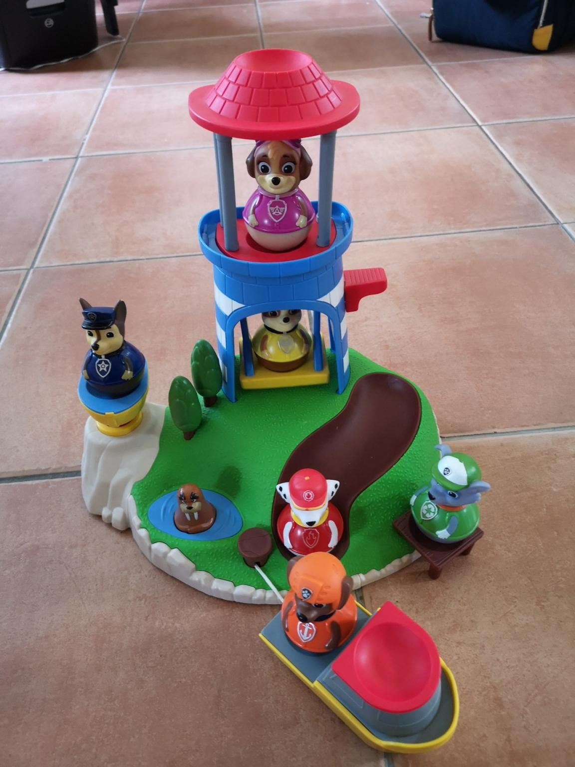 JAZWARES BOUTIQUE Paw Patrol Play And Play Seal Island For Weebles