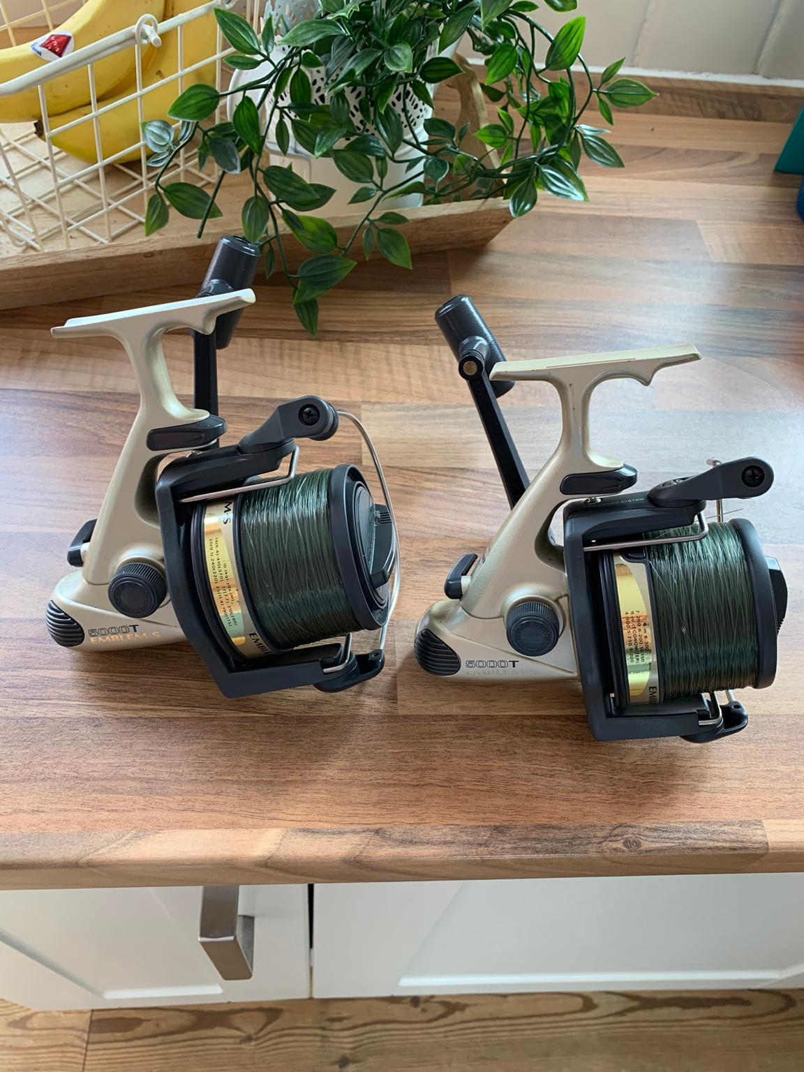 573ab0bb1bf Daiwa carp fishing reels in B43 Walsall for £60.00 for sale - Shpock