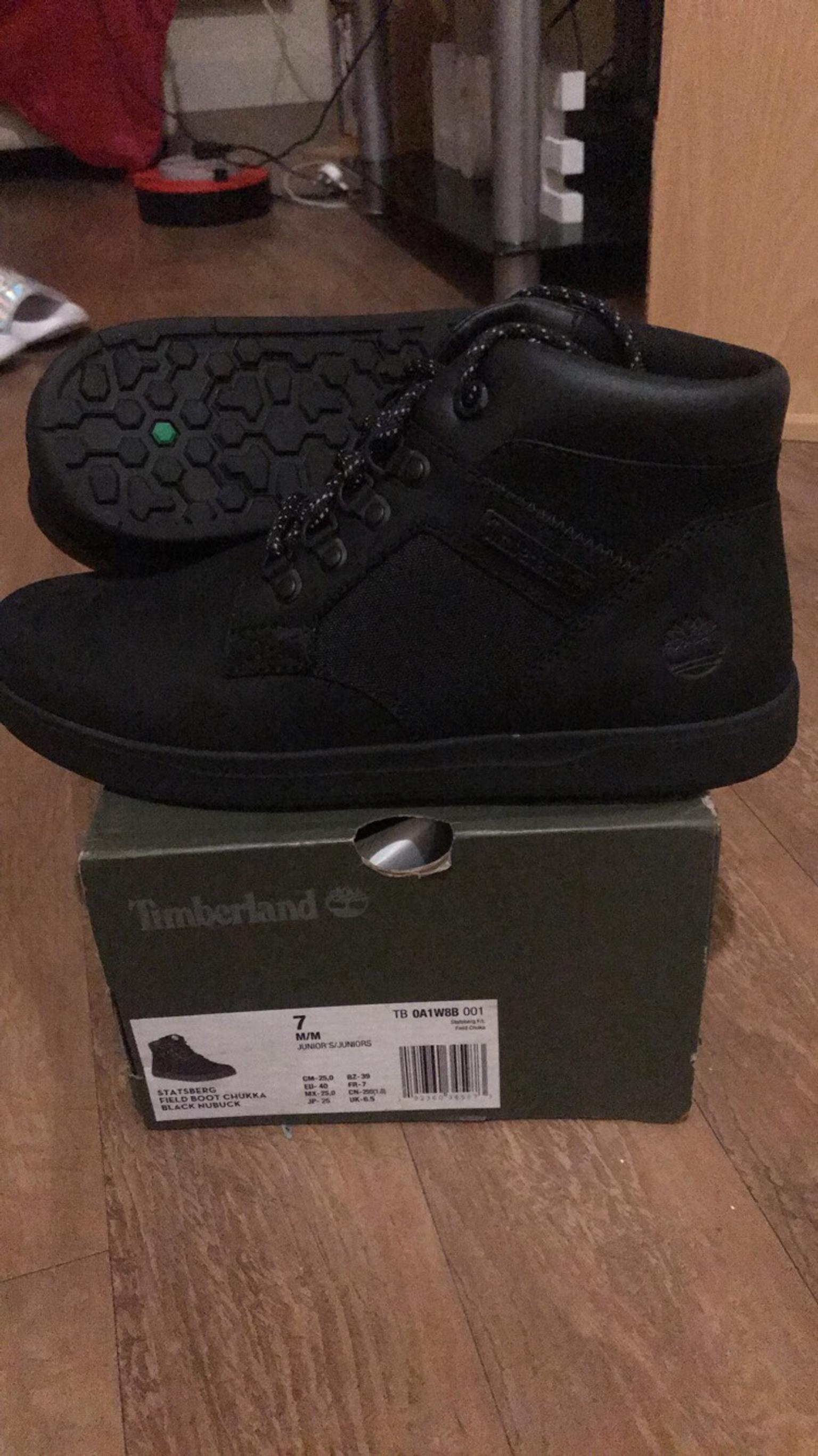 solar Psicologicamente cicatriz  6.5 black timberlands brand new boxed in LE1 Leicester for £35.00 for sale  | Shpock