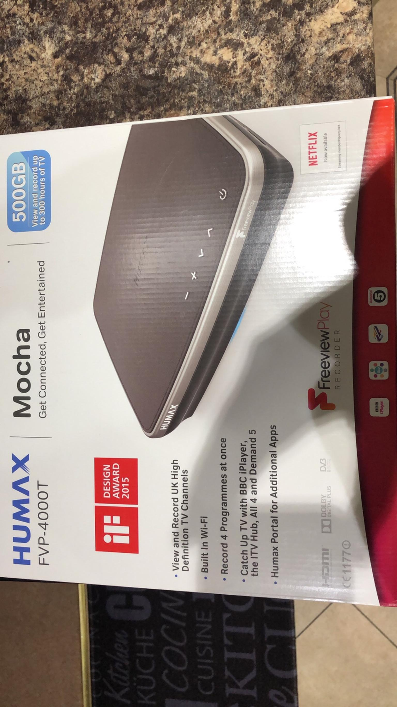 Humax Freeview Player Recorder 500GB