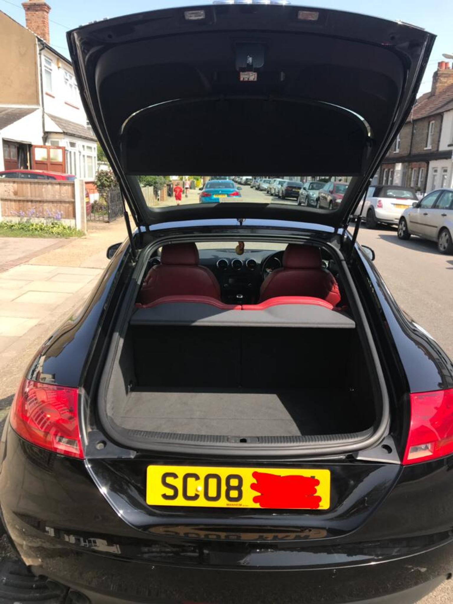 2008 Black Audi Tt With Red Leather Seats In London For 6 000 00 For Sale Shpock