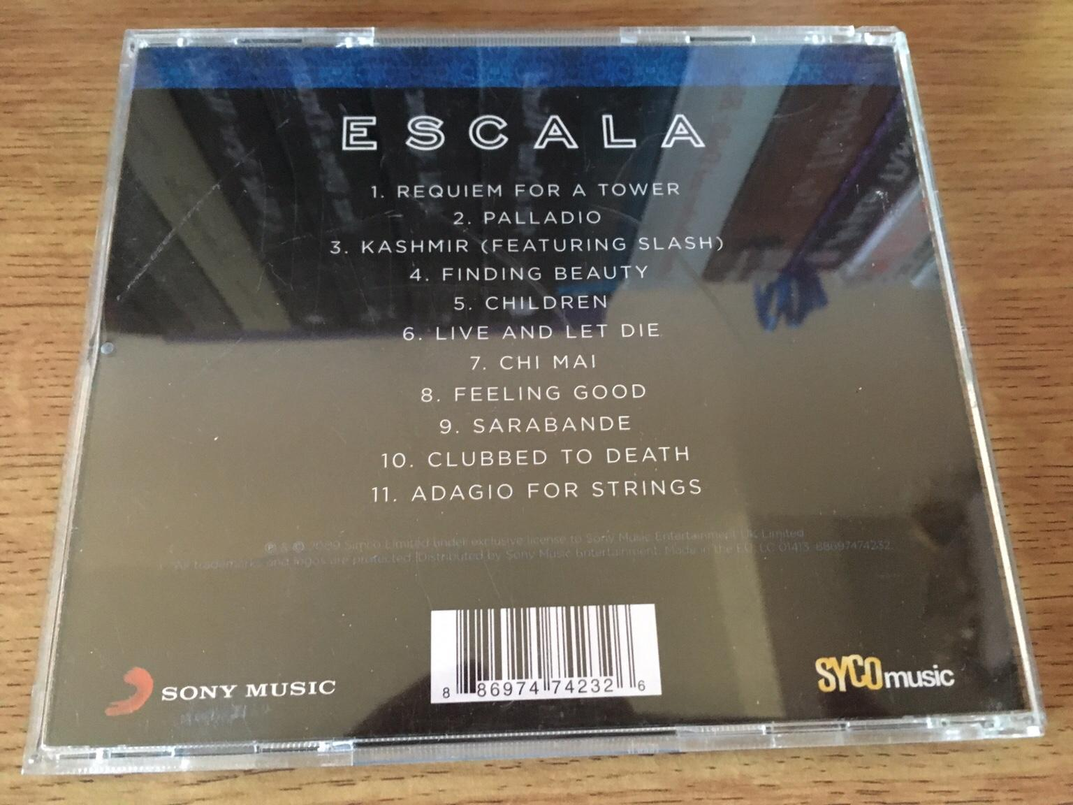 Escala Instrumental Music CD