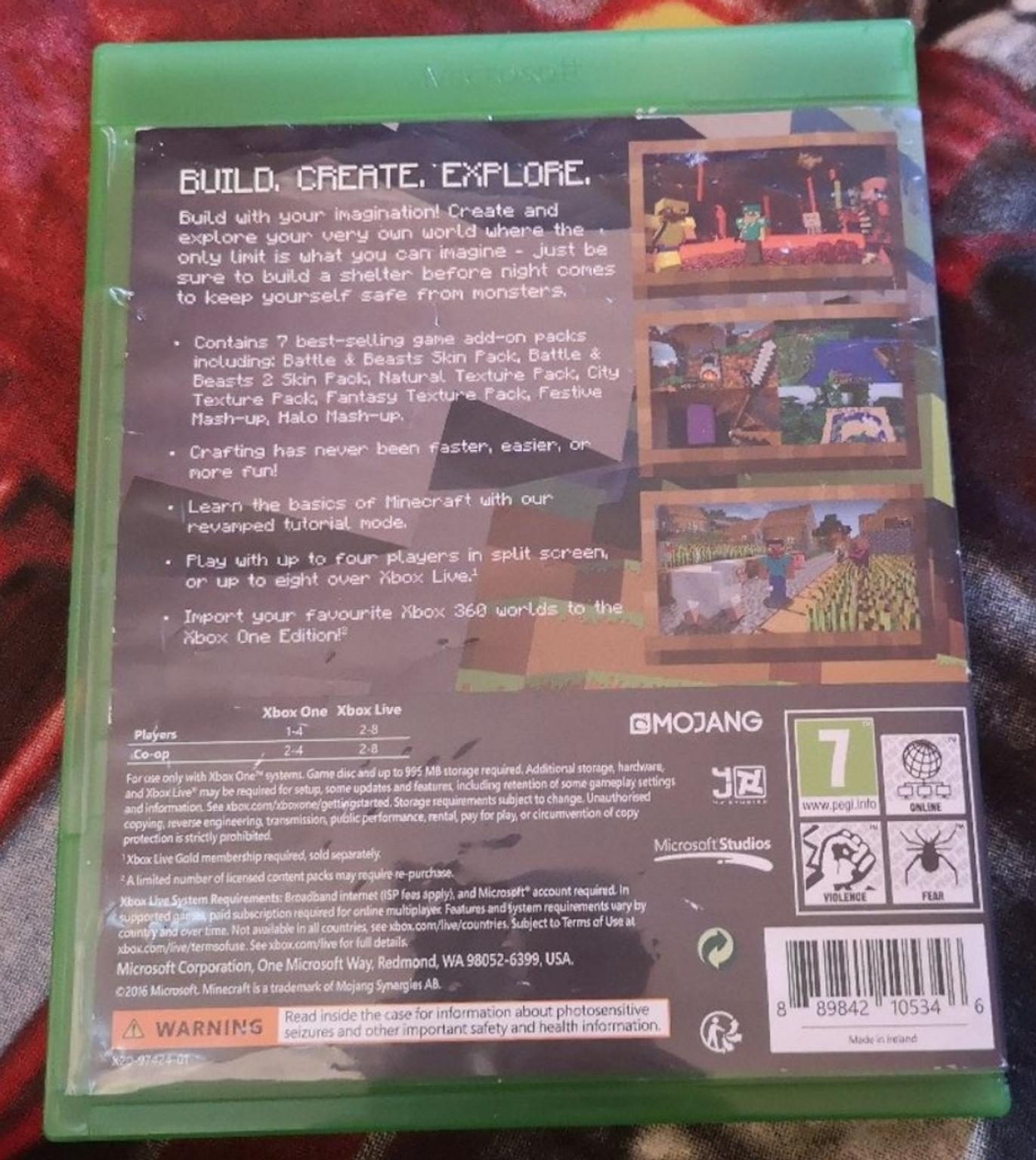 Minecraft Xbox One Edition (Favourites Pack)