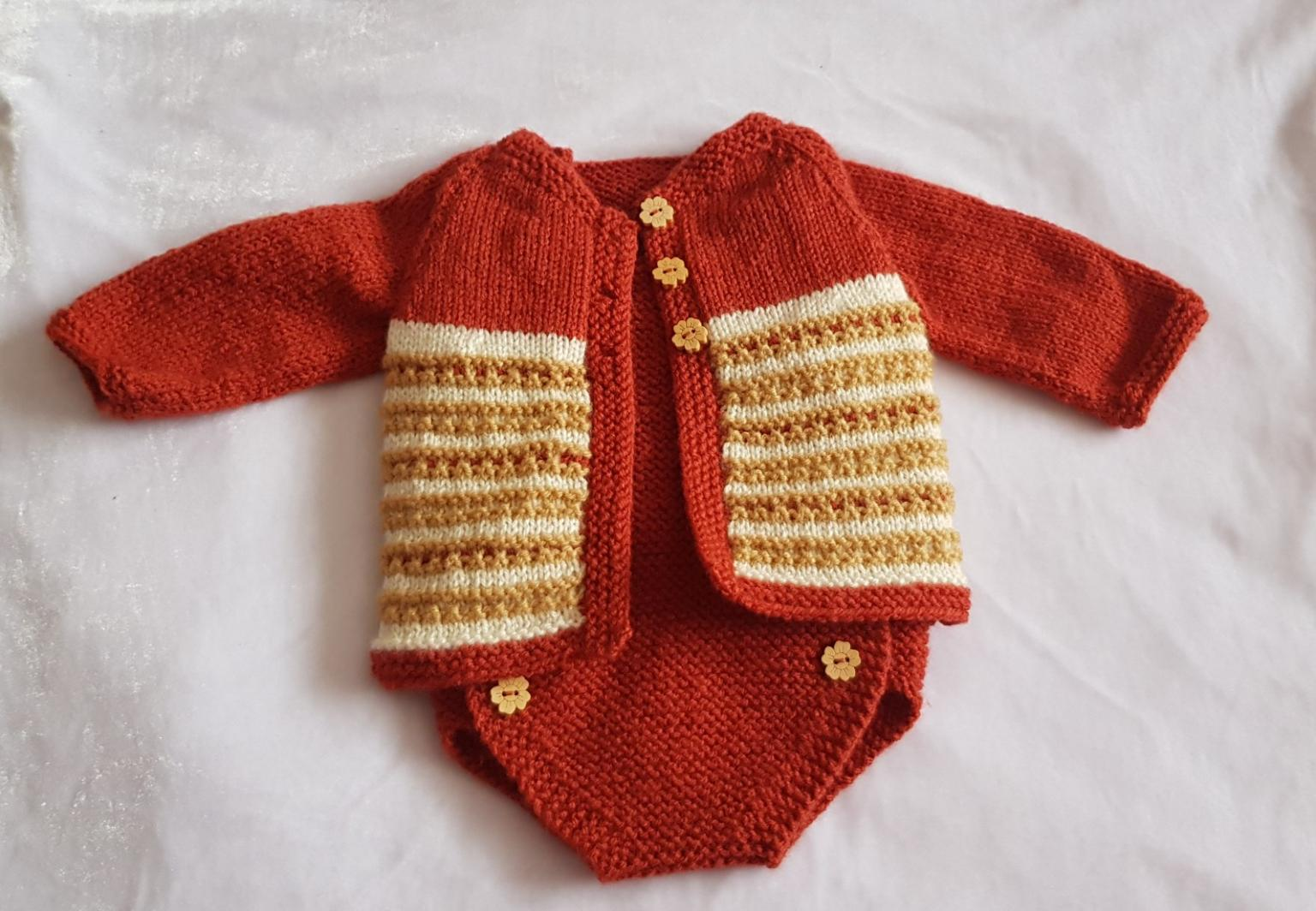 a8270ceaa Hand knitted baby clothes - New