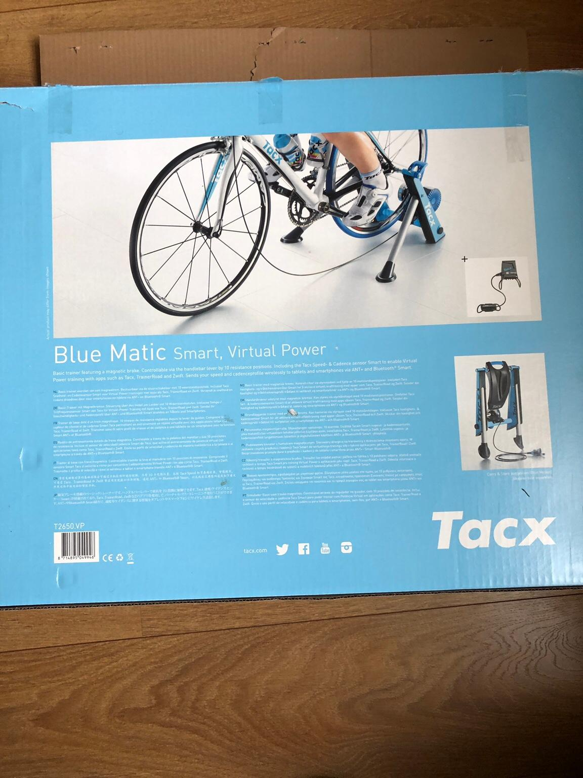 Tacx Blue Matic Smart Ant Virtual Trainer
