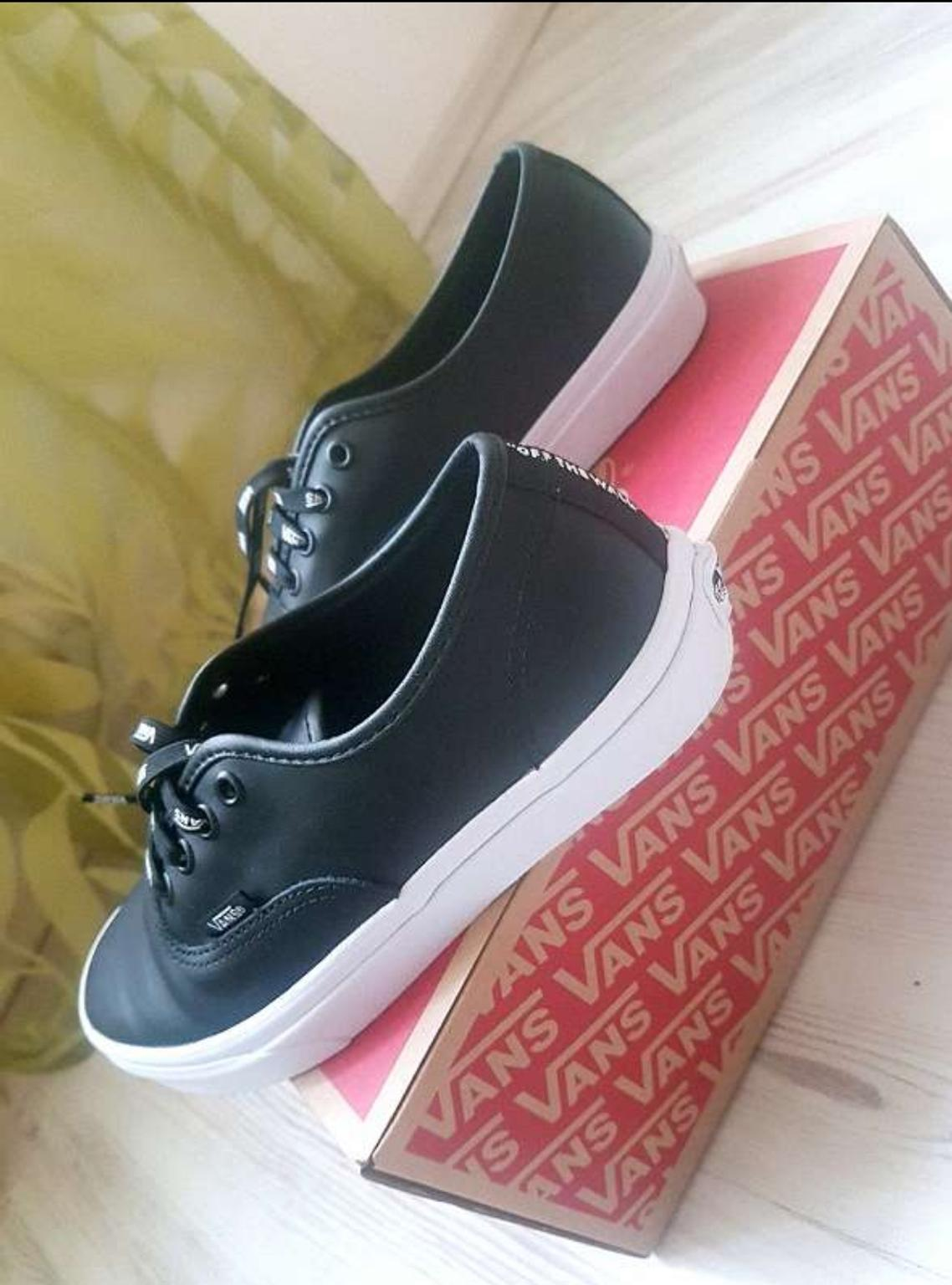 VANS Sneakers Authentic Leder