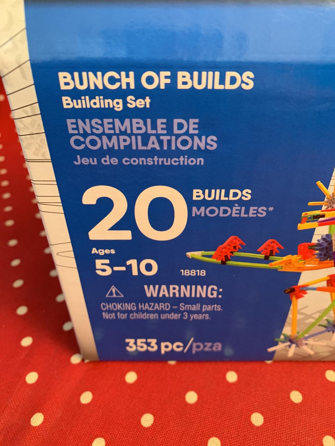 K/'NEX 353 Part Bunch of Builds Building Set 5 Years