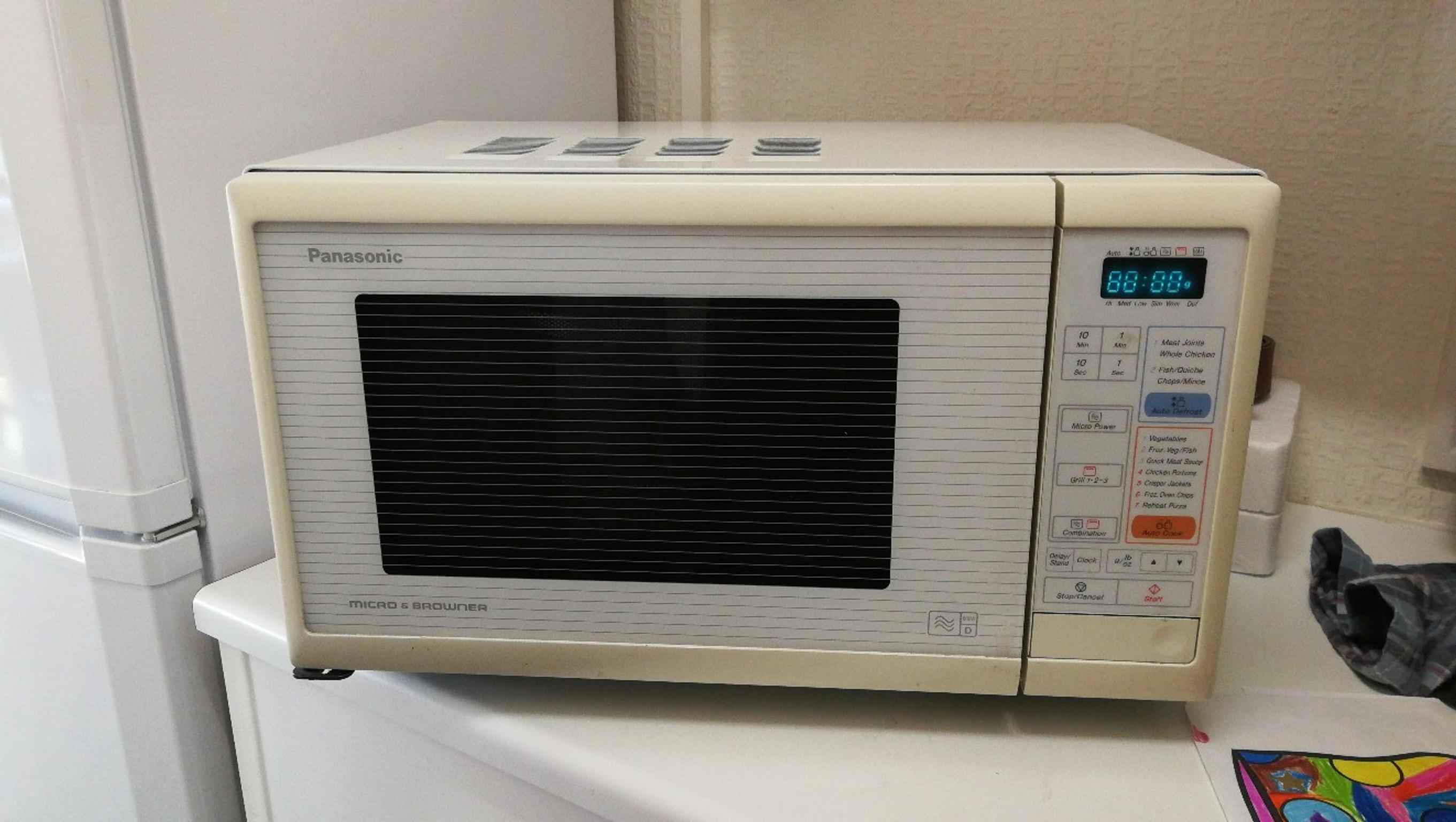 Panasonic Microwave & Browner in HA4 Hillingdon für £ 10,00