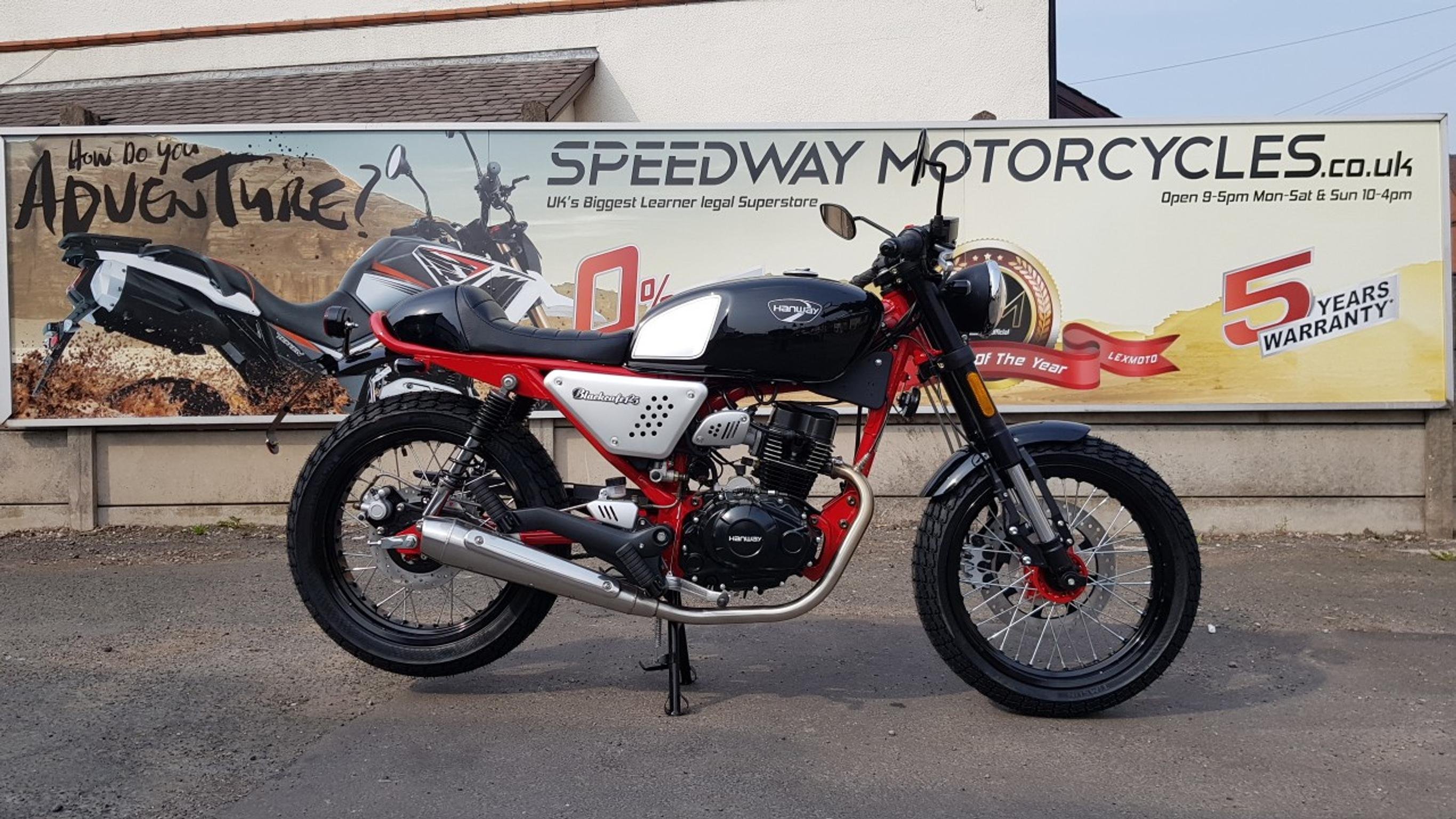 Hanway Cafe Racer 125cc Motorcycle Motorbike In Ws115bu Cannock For 2 299 00 For Sale Shpock