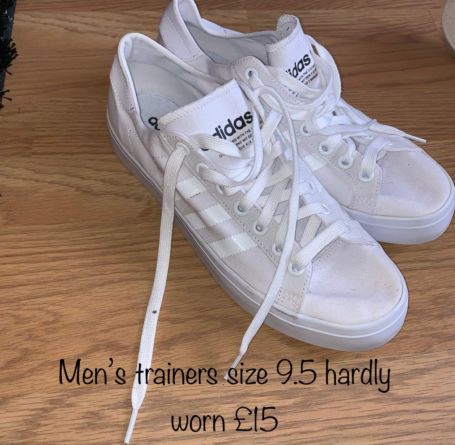 27bc14996 MENS TRAINERS SIZE 9.5 in BS13 Bristol for £15.00 for sale - Shpock