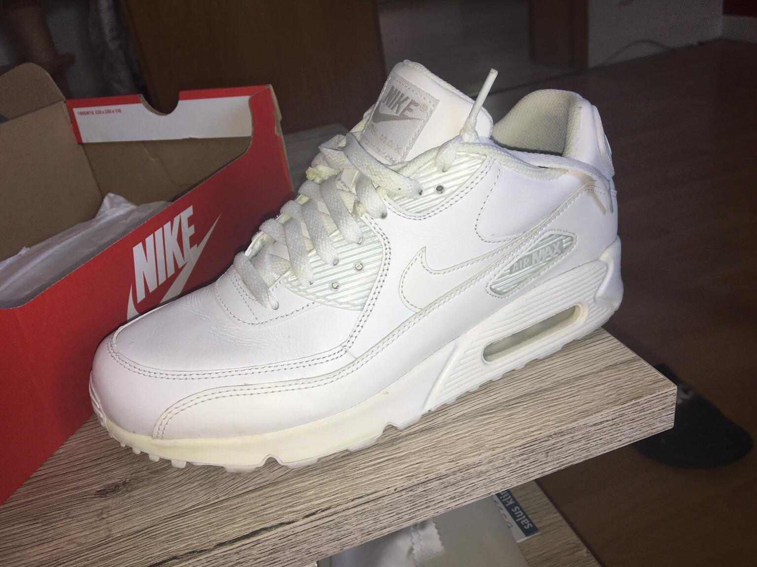 Nike air Max 90 Leder weiß in 46240 Bottrop for €80.00 for