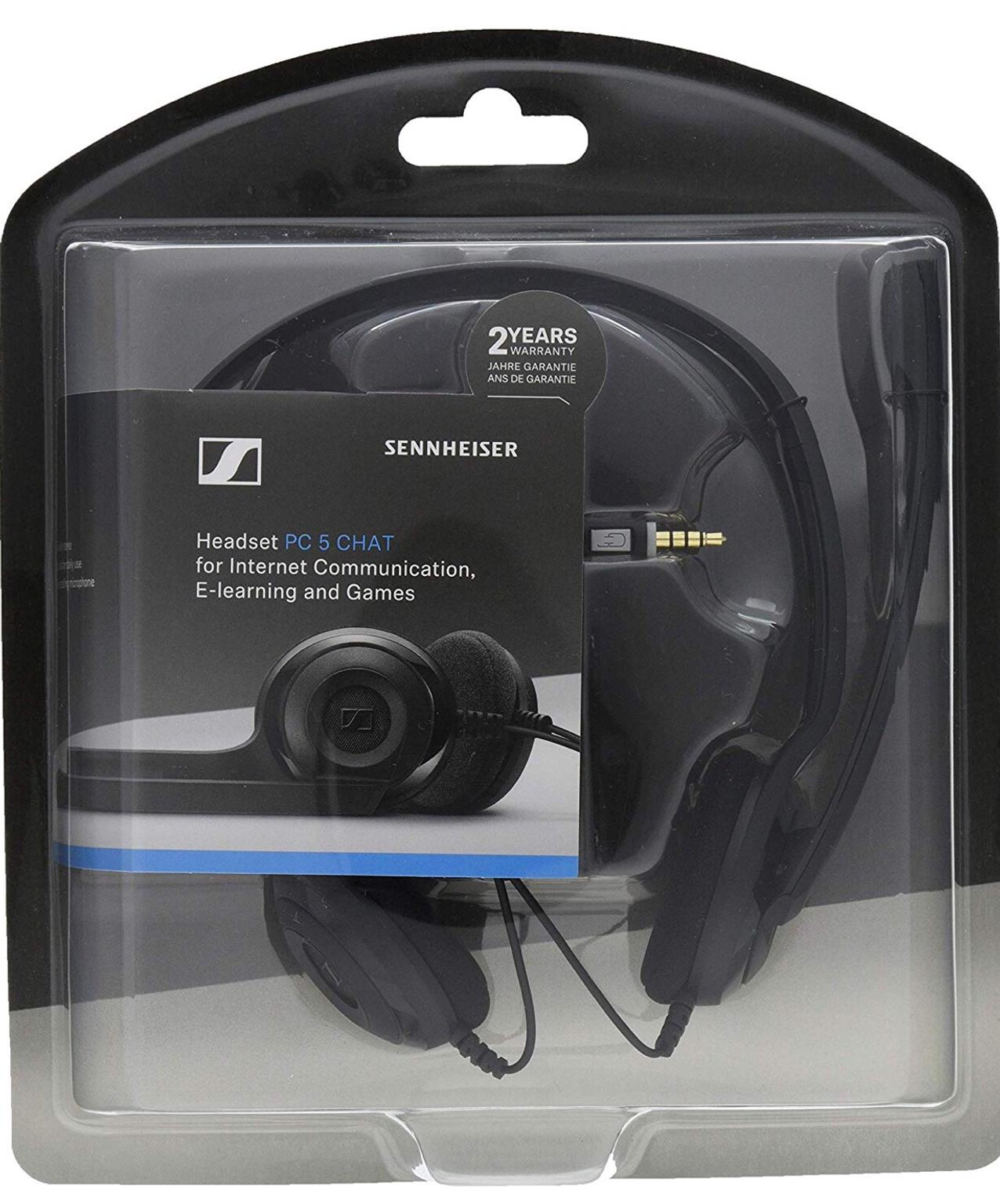 SENNHEISER HEADSET PC 5 CHAT