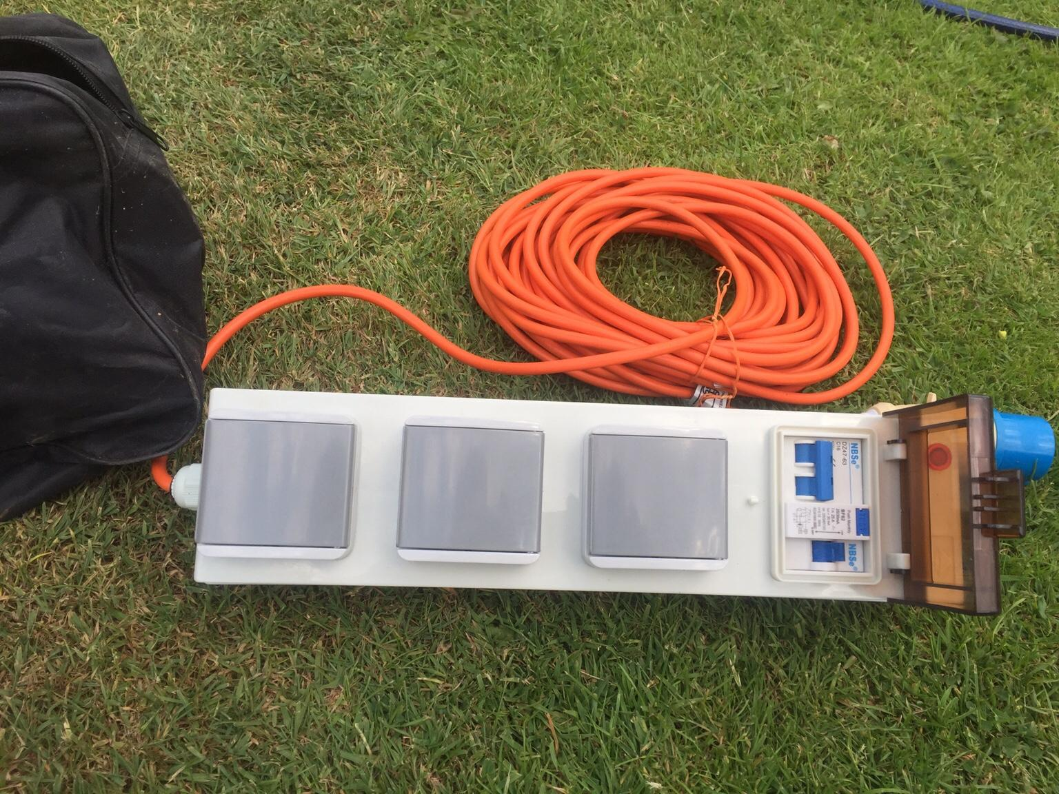 Camping electric hook up in NN14 Northamptonshire for £20 ...