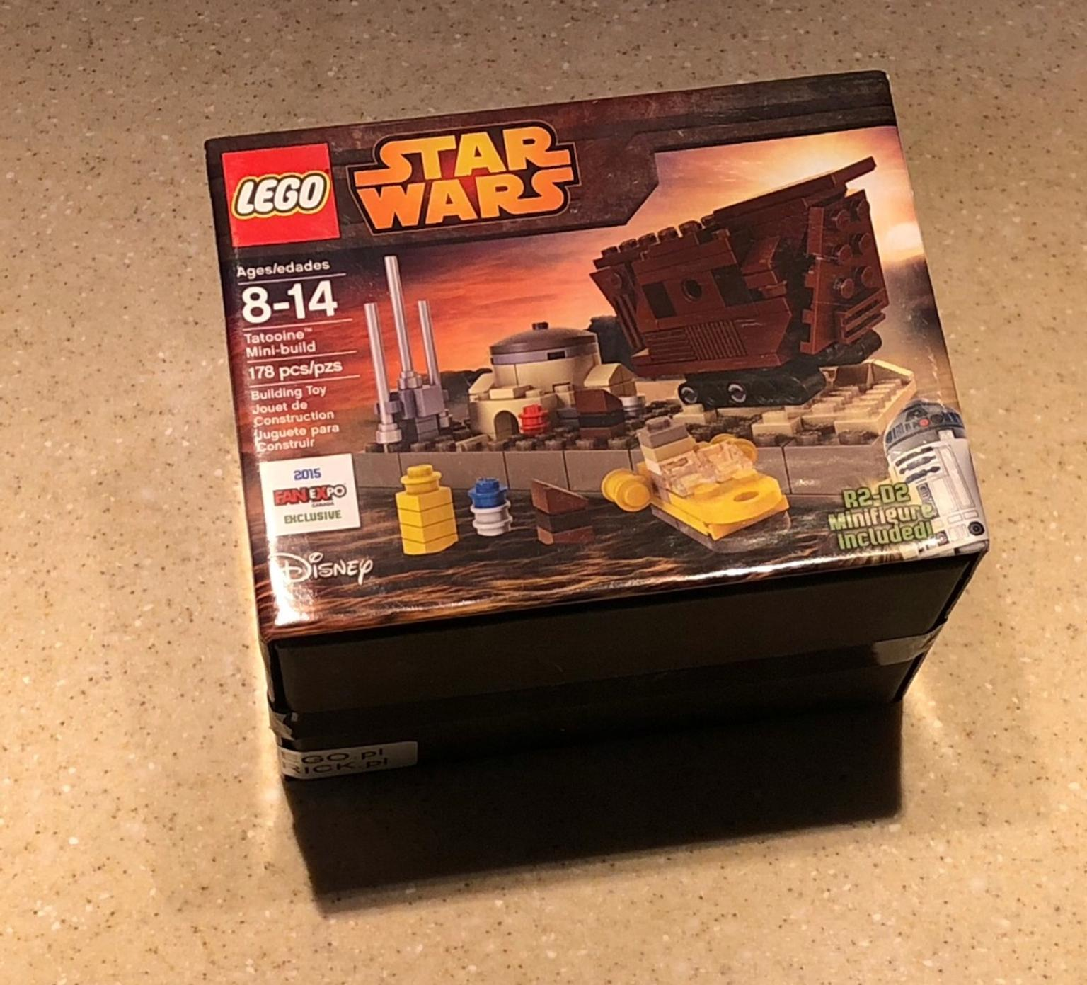 LEGO SW RARE Exclusive Fan Expo2015 Tatooine