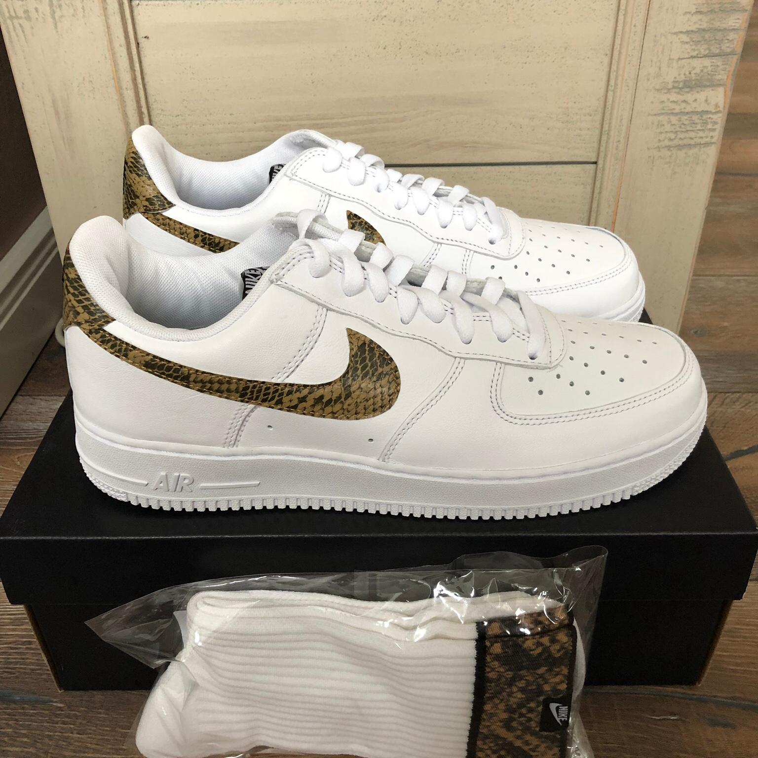 Nike Air Force 1 •Ivory Snake• US 10.5 | 44.5