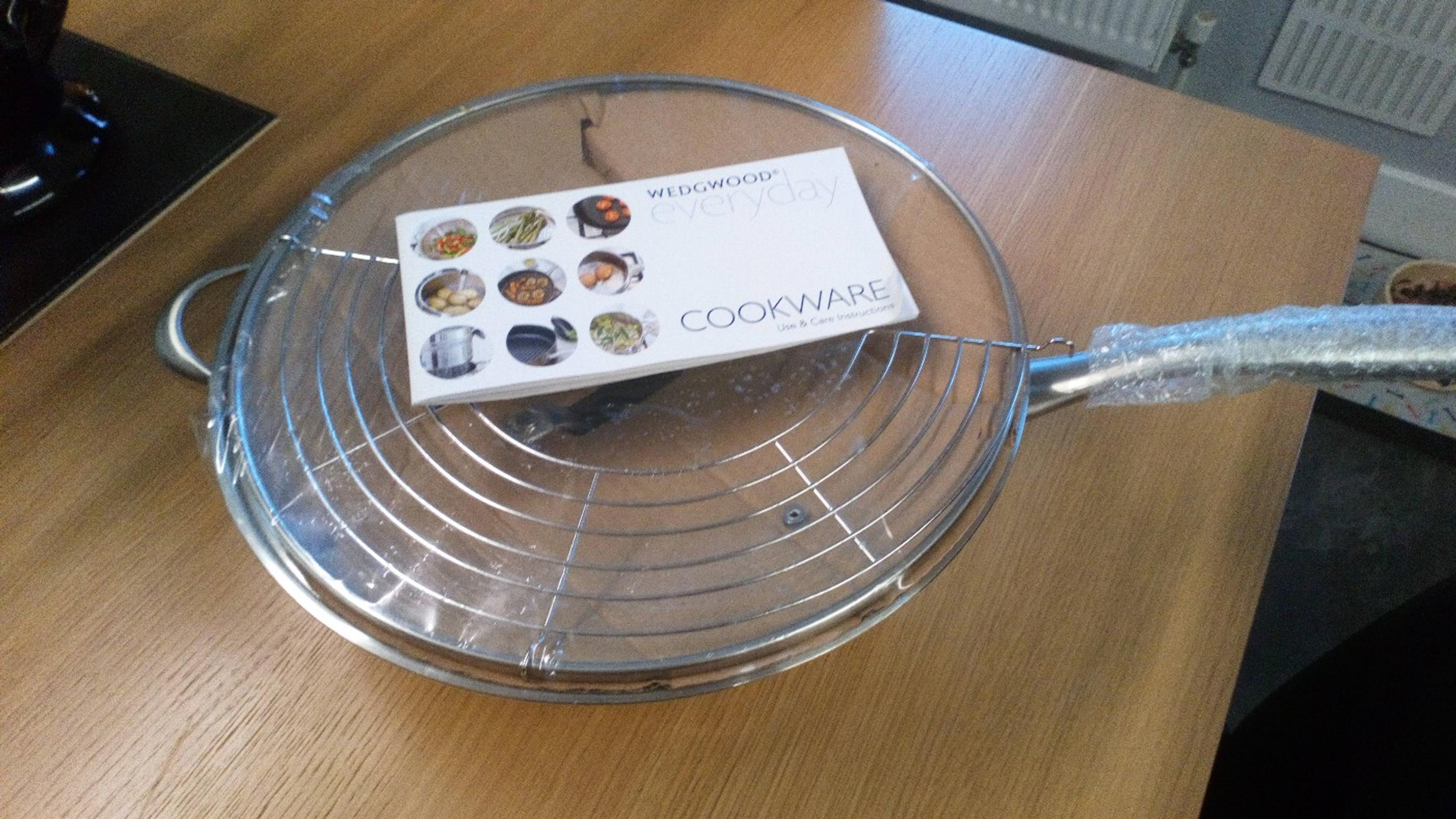 Wedgwood Cookware Stainless Wok In S20