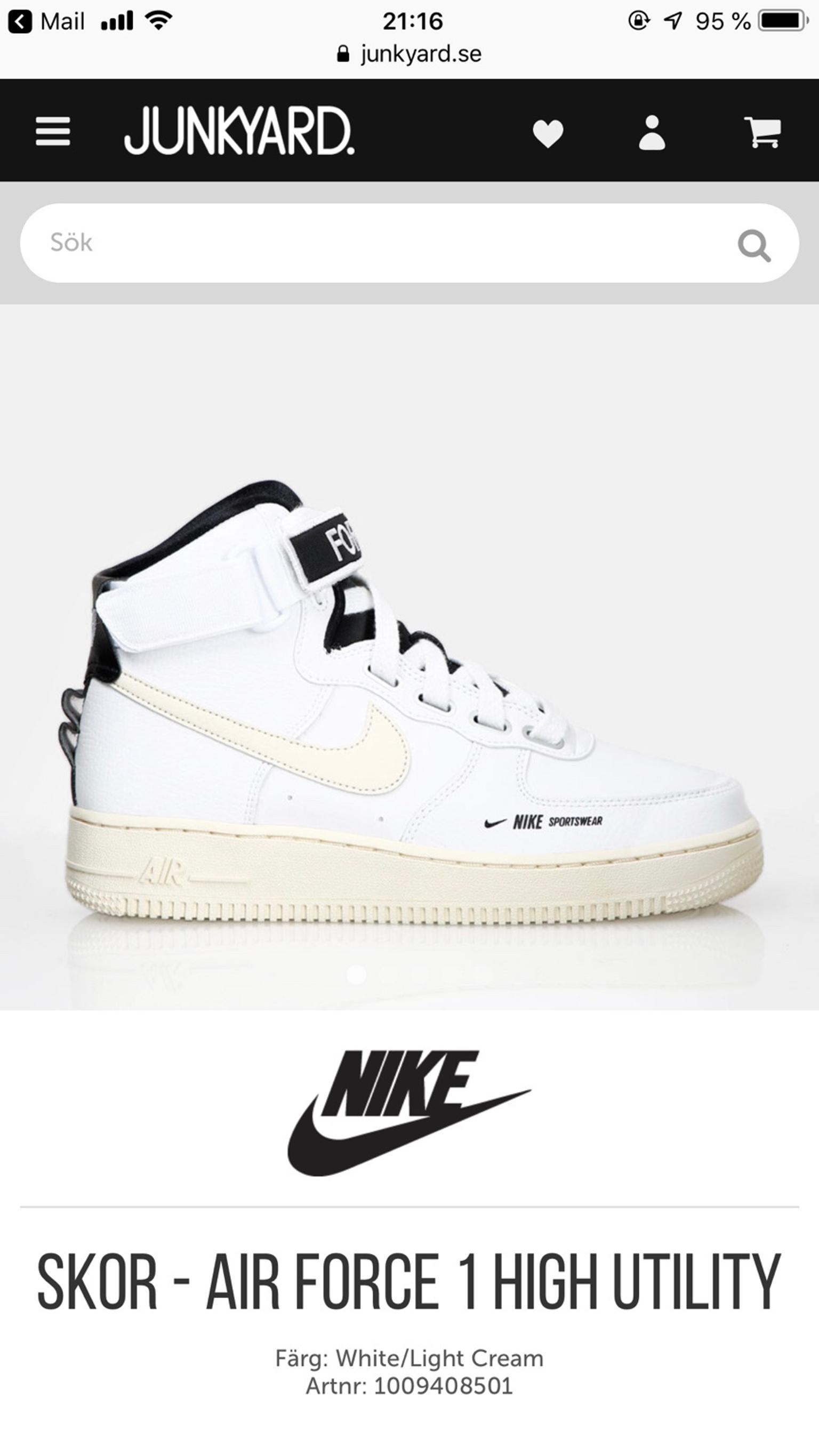 Nike skor Air Force 1 High Utility