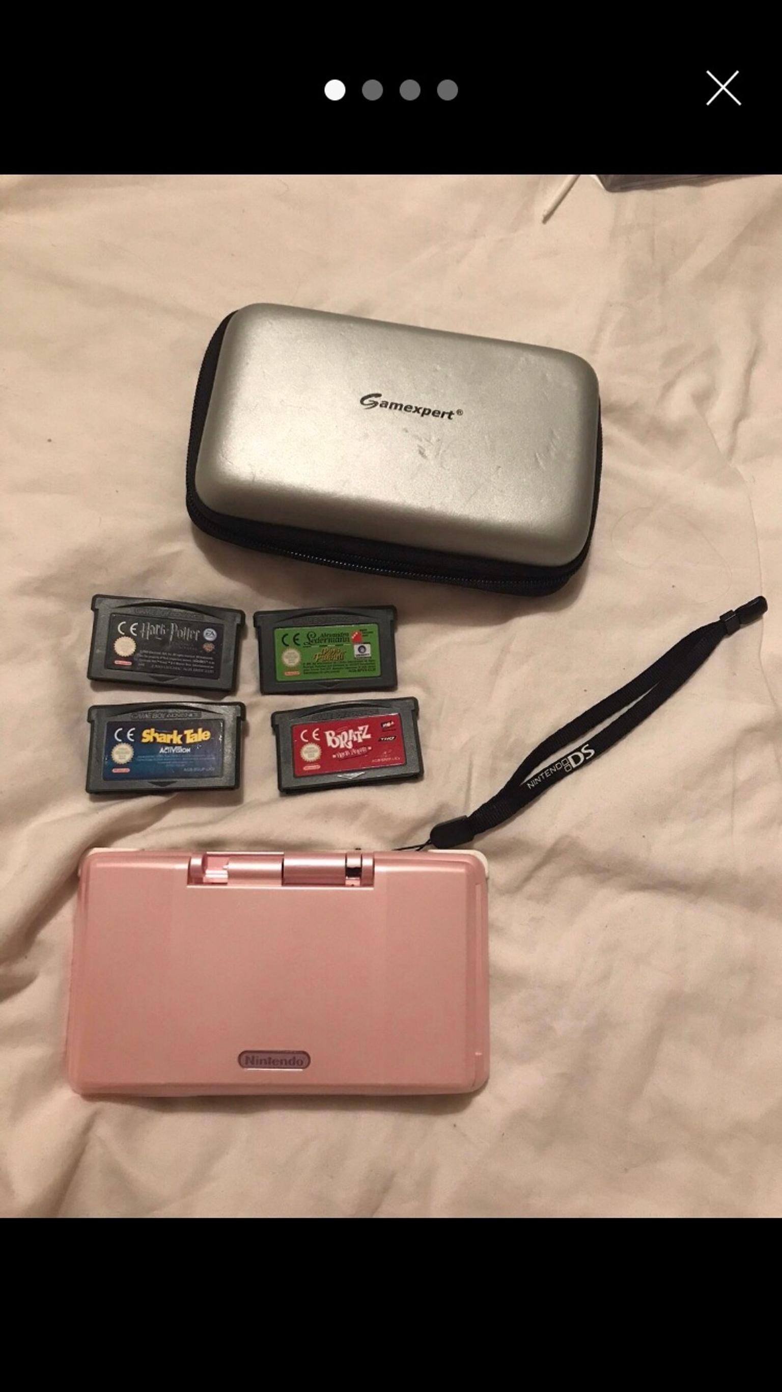 Nintendo DS with 4 game boy games