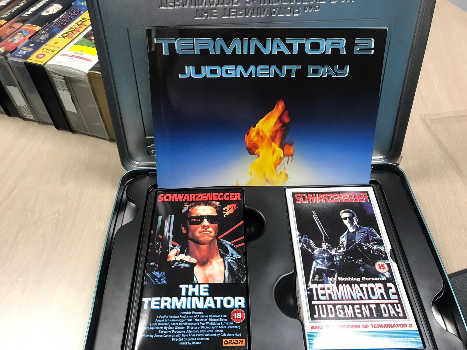 Vhs Videos Incl Terminator Set And Star Wars In Sl6 Marks For 10 00 For Sale Shpock