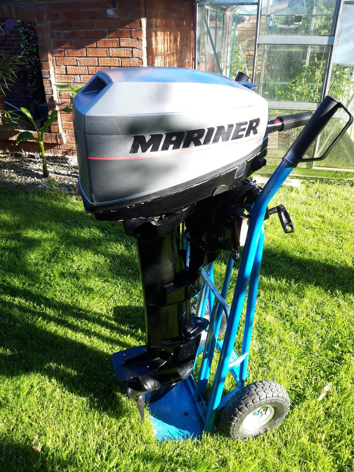 Mariner 15hp Outboard In Wigan For  U00a3750 00 For Sale
