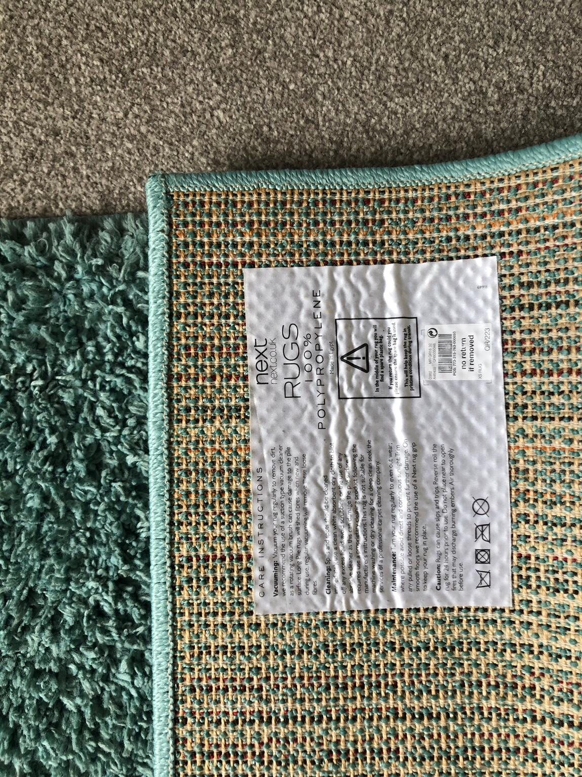 Next Teal Rug In Wa11 Helens For 20 00