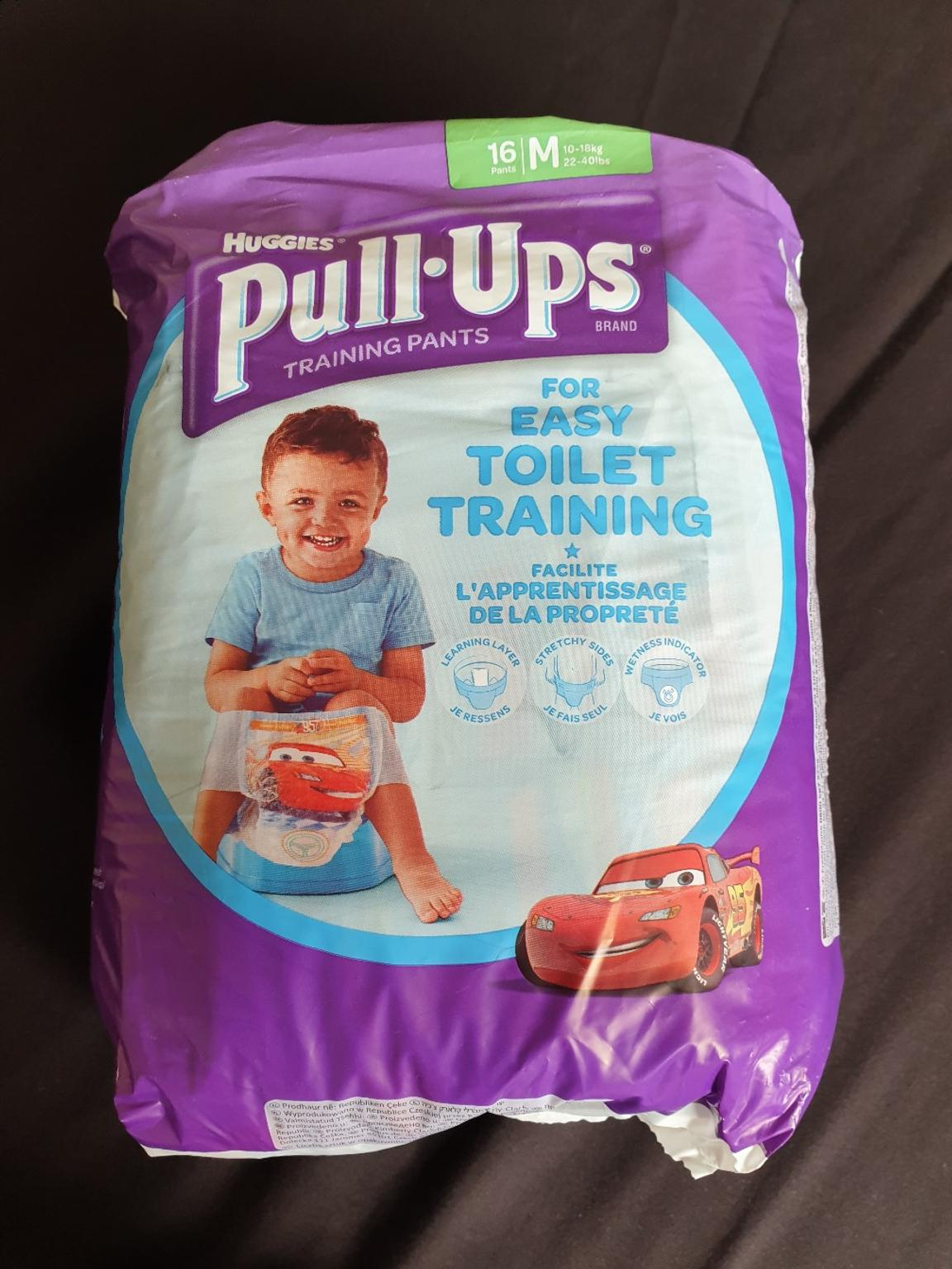 14 Huggies Pull-Ups Potty Training Pants for Boys Size 5 Medium 11-18kg
