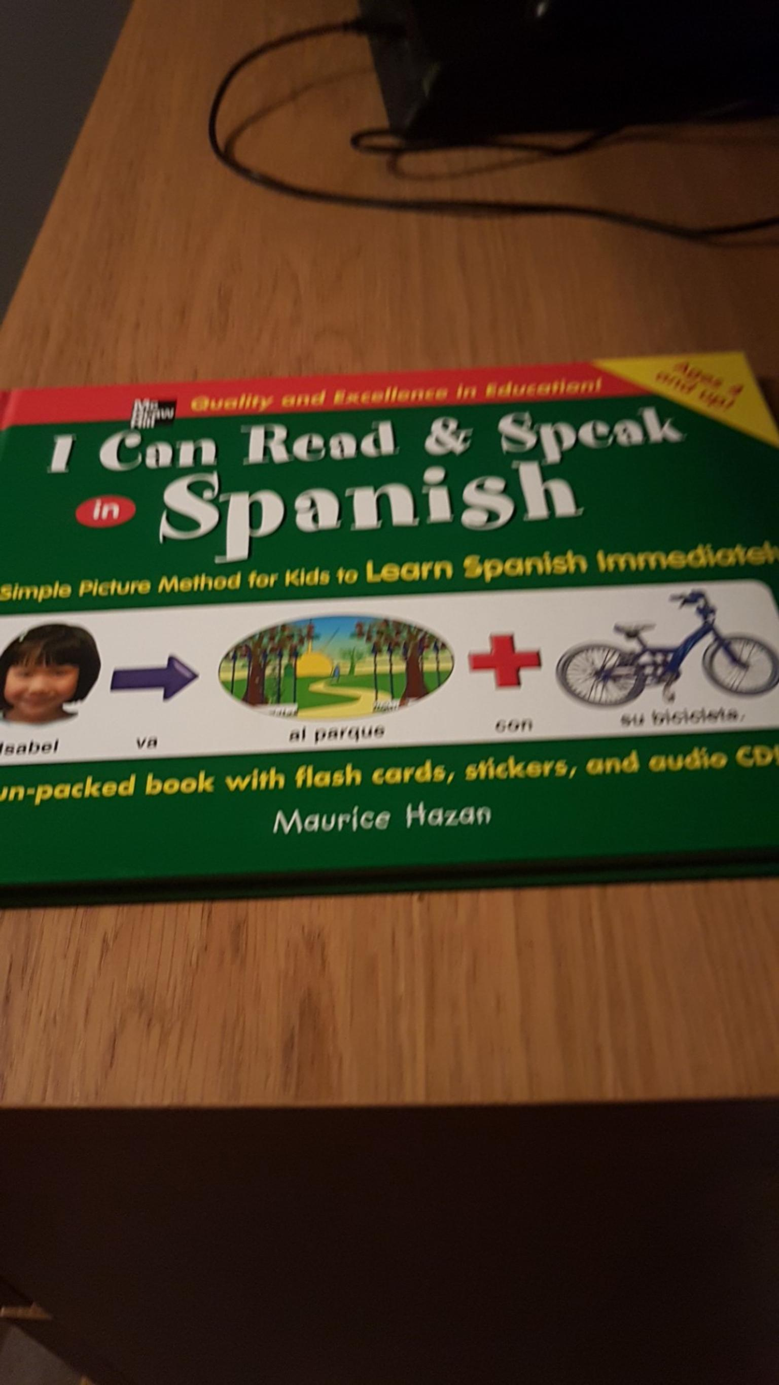 Spanish book for kids
