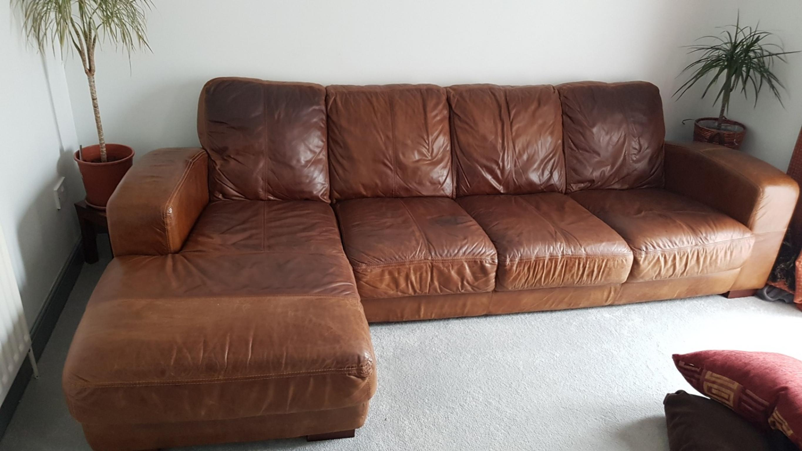 Leather Corner Sofa In Ct1 Canterbury