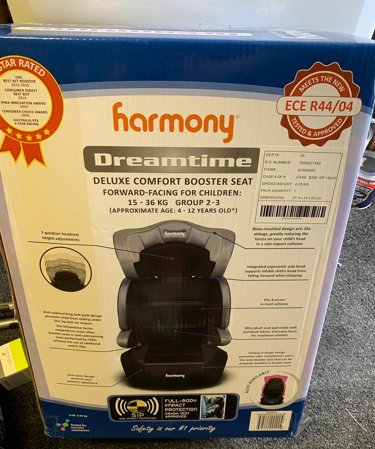 Harmony Dreamtime deluxe comfort booster seat