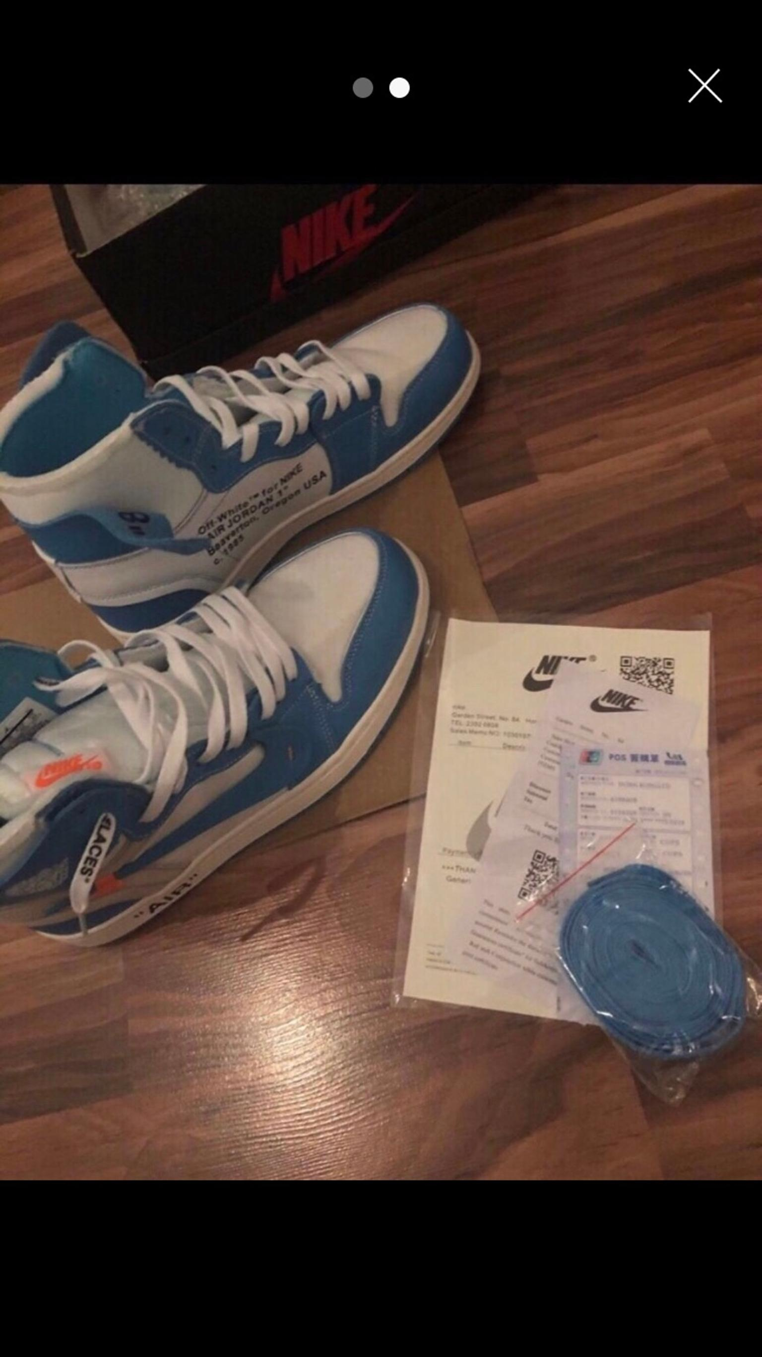 Nike Air Jordan 1 UNC Off White