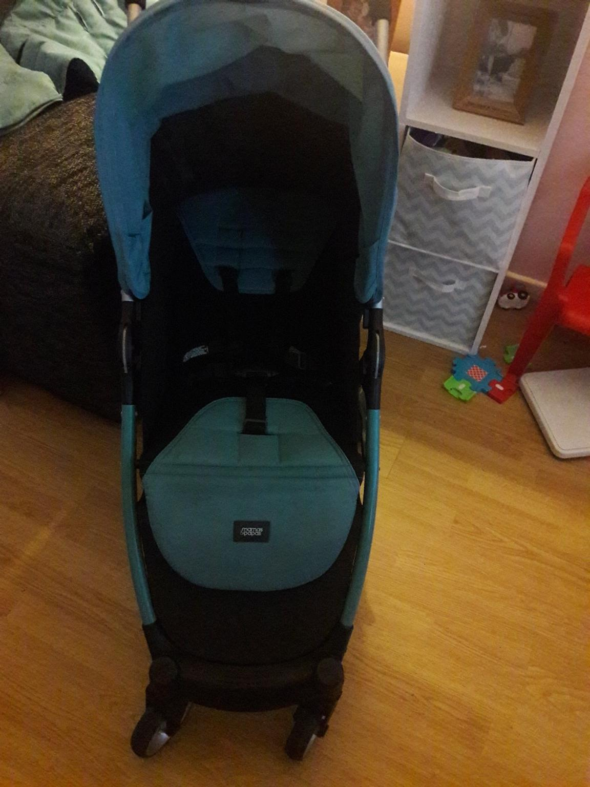 Turquoise Footmuff//Cosy Toes Compatible with Mamas /& Papas Armadillo City 2