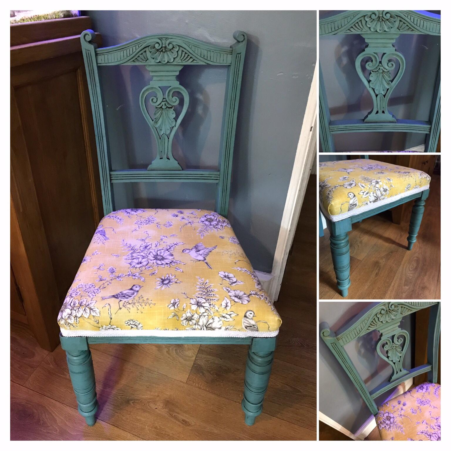 Antique Dining Chairs Hand Painted