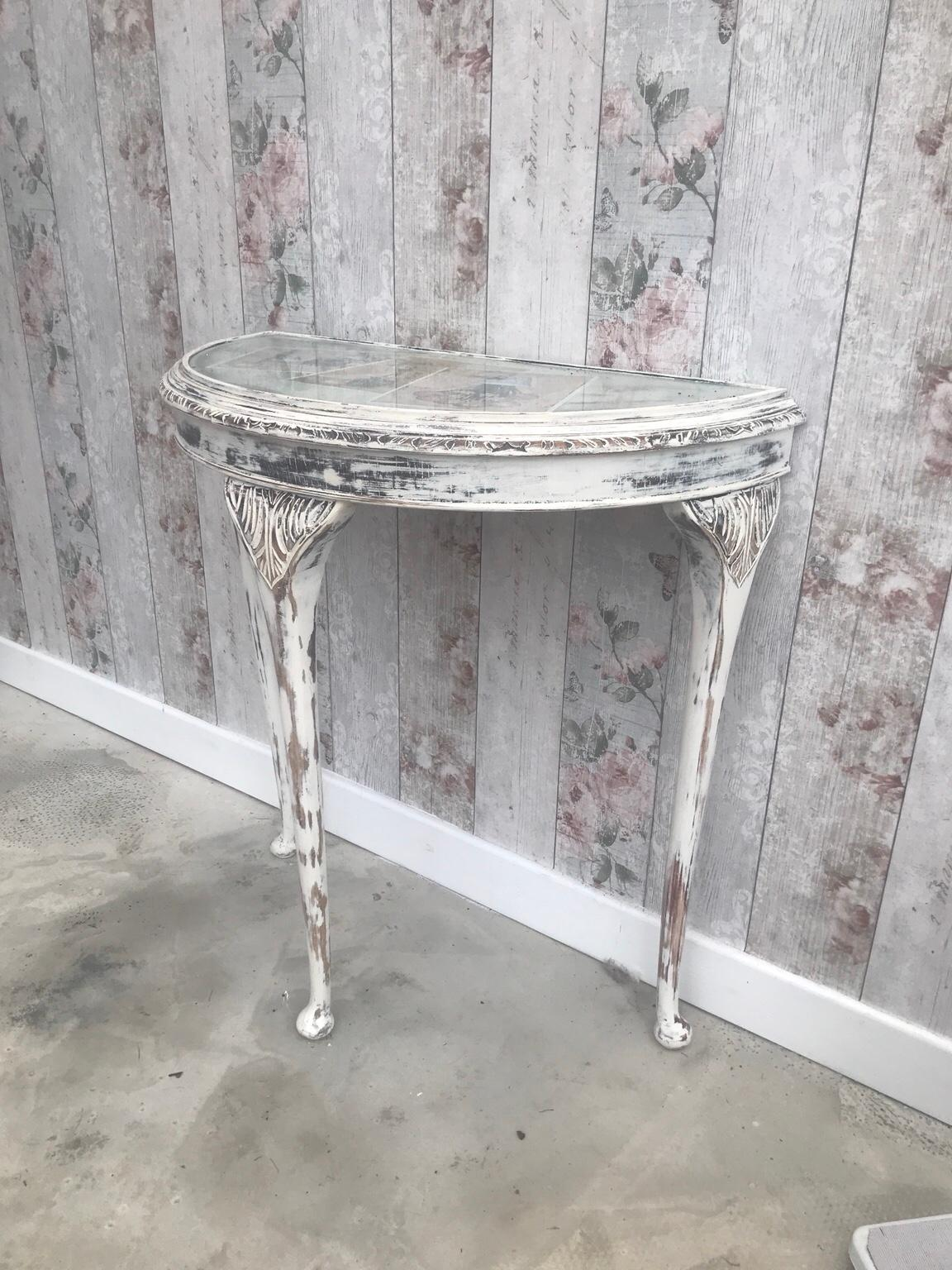 Demi Lune Vintage Side Table In BL4 Bolton For £30.00 For