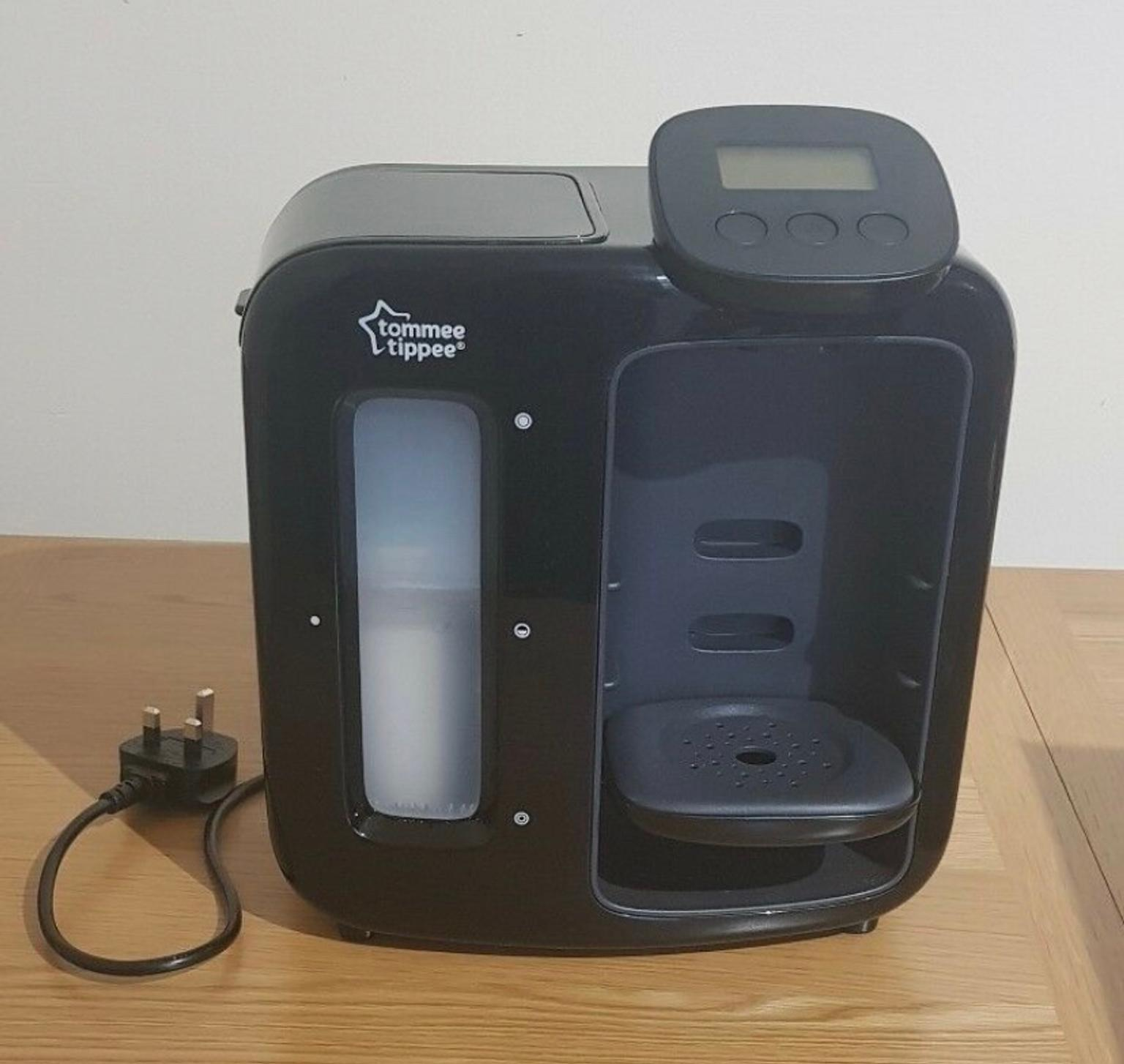 Tommee Tippee Perfect Prep Day and Night Black with Filters x2