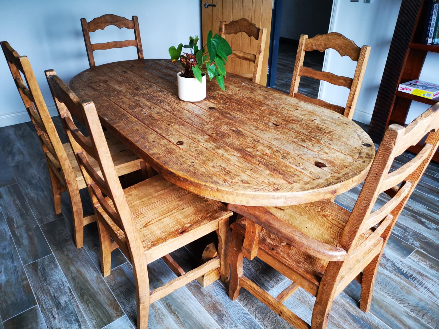 Excellent Dining Table 6 Chairs Machost Co Dining Chair Design Ideas Machostcouk