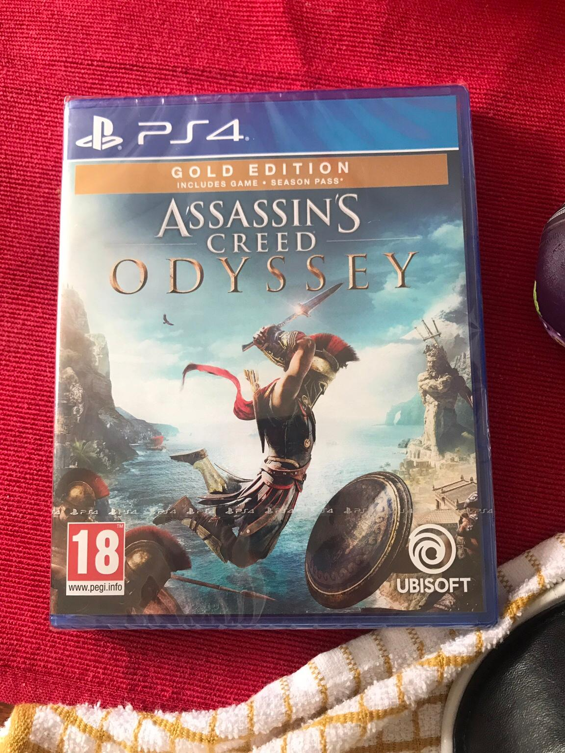 Assassins Creed Odyssey Ps4 Gold Edition
