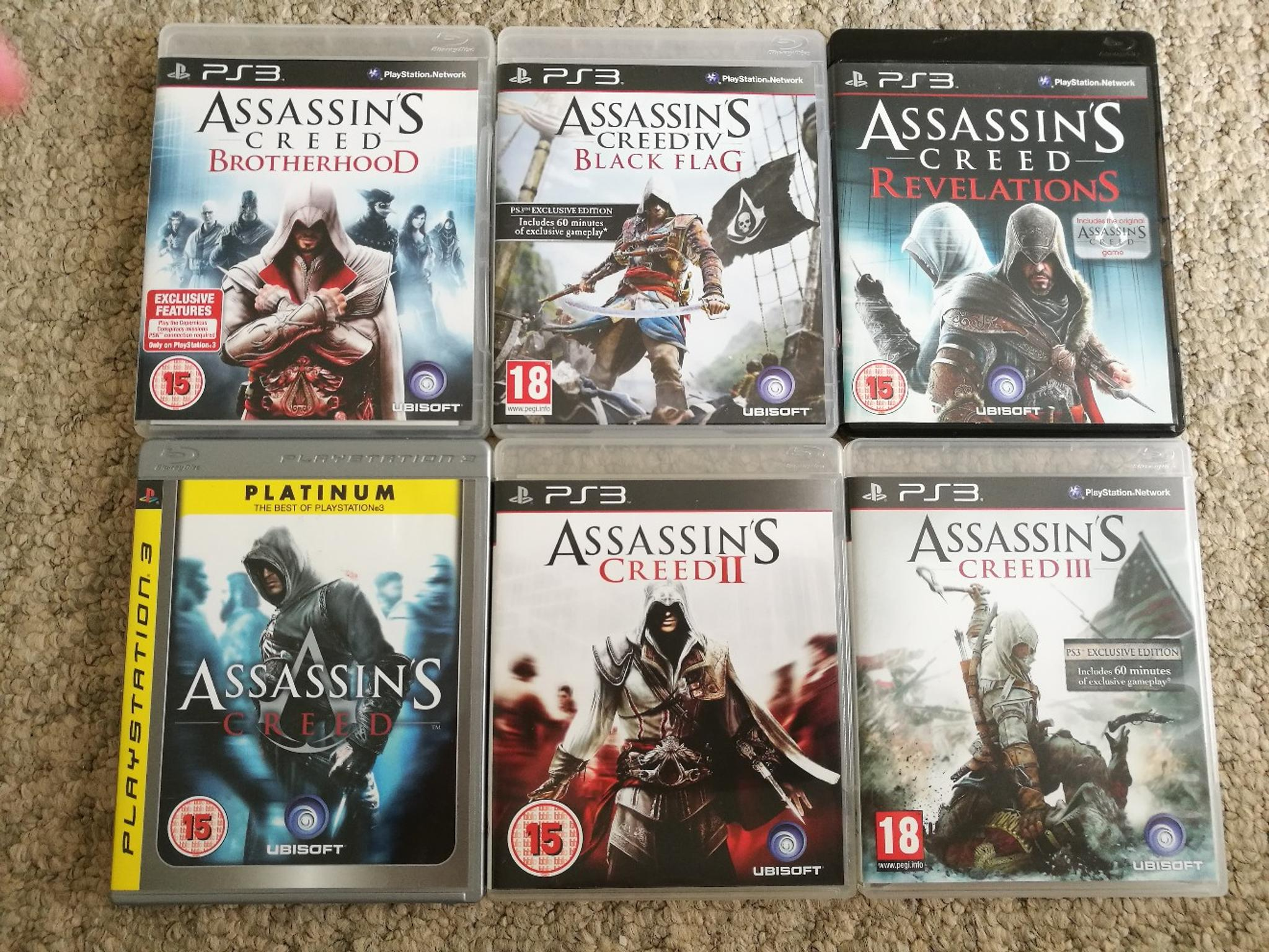 Ps3 Assassins Creed Game Bundle In Mk8 Wolverton For 15 00 For