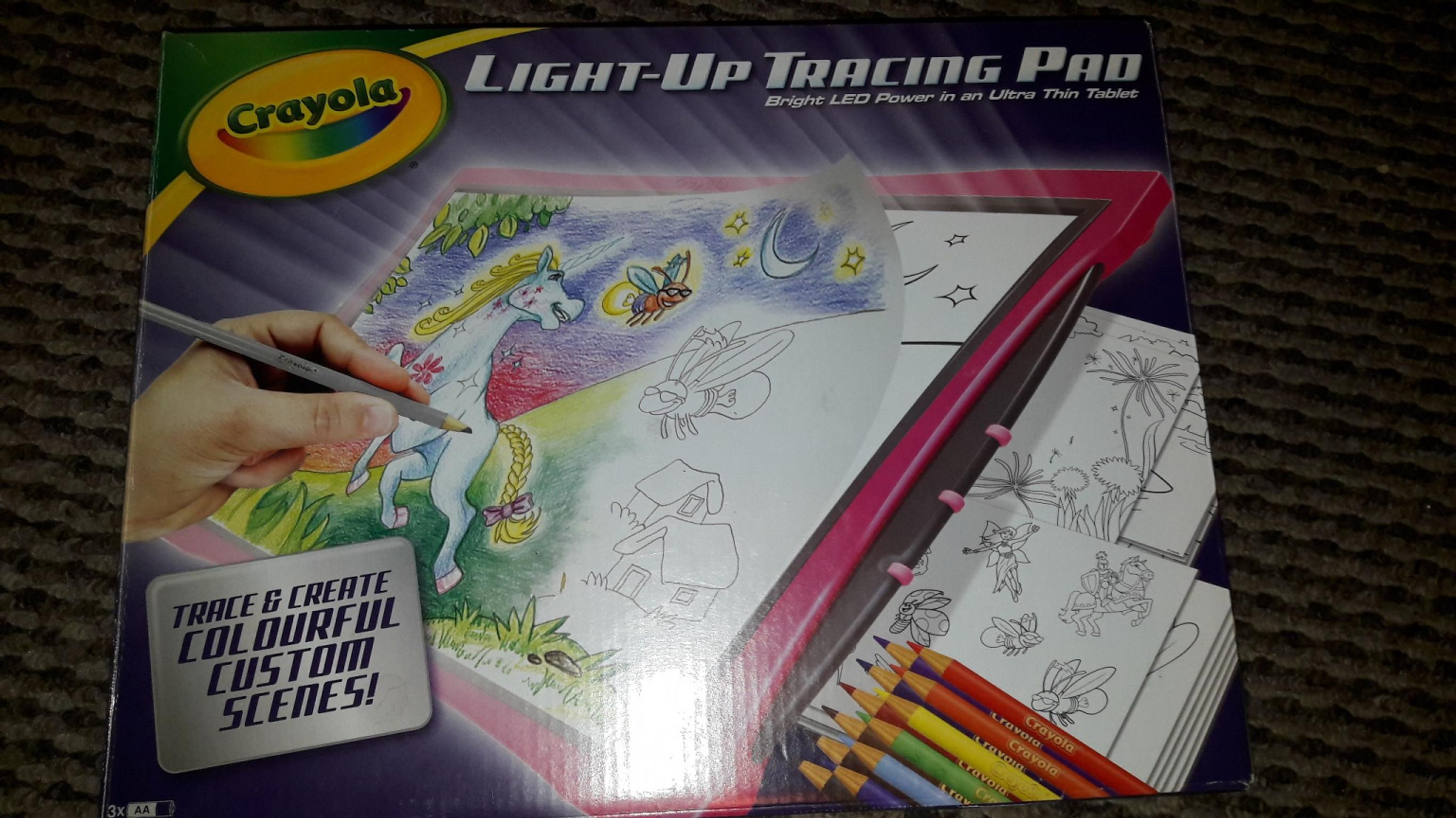 Crayola Light Up Tracing Pad In Pr5 Ribble For 6 00 For Sale Shpock