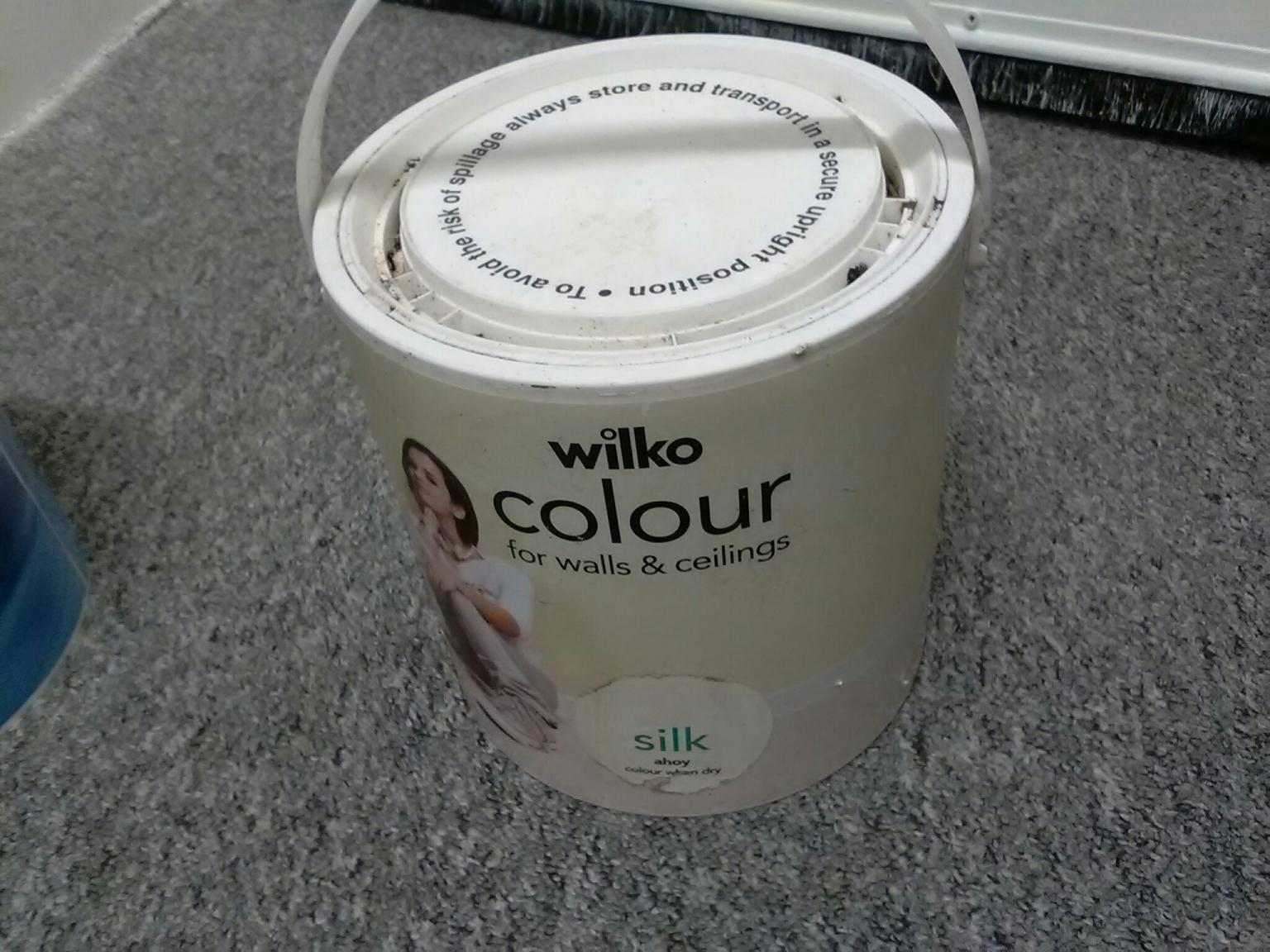 Wilko Colour Emulsion 2 5l Tub In Wa10 Helens For 5 00 For Sale Shpock