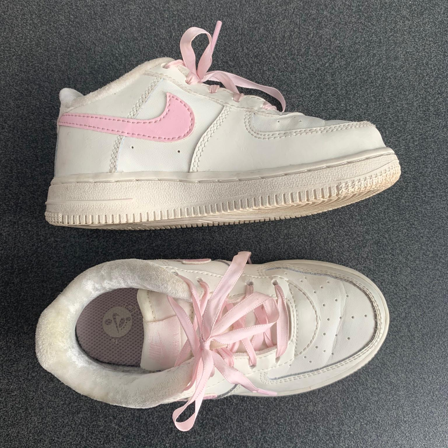 air force 1 bianche rosa