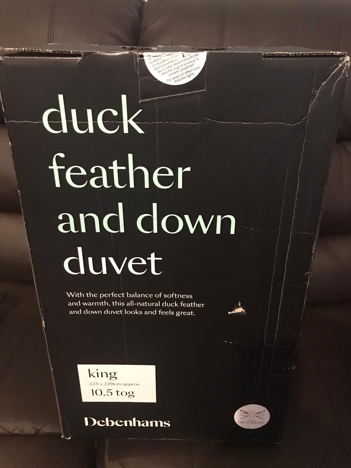Duck feather and down duvet in B64