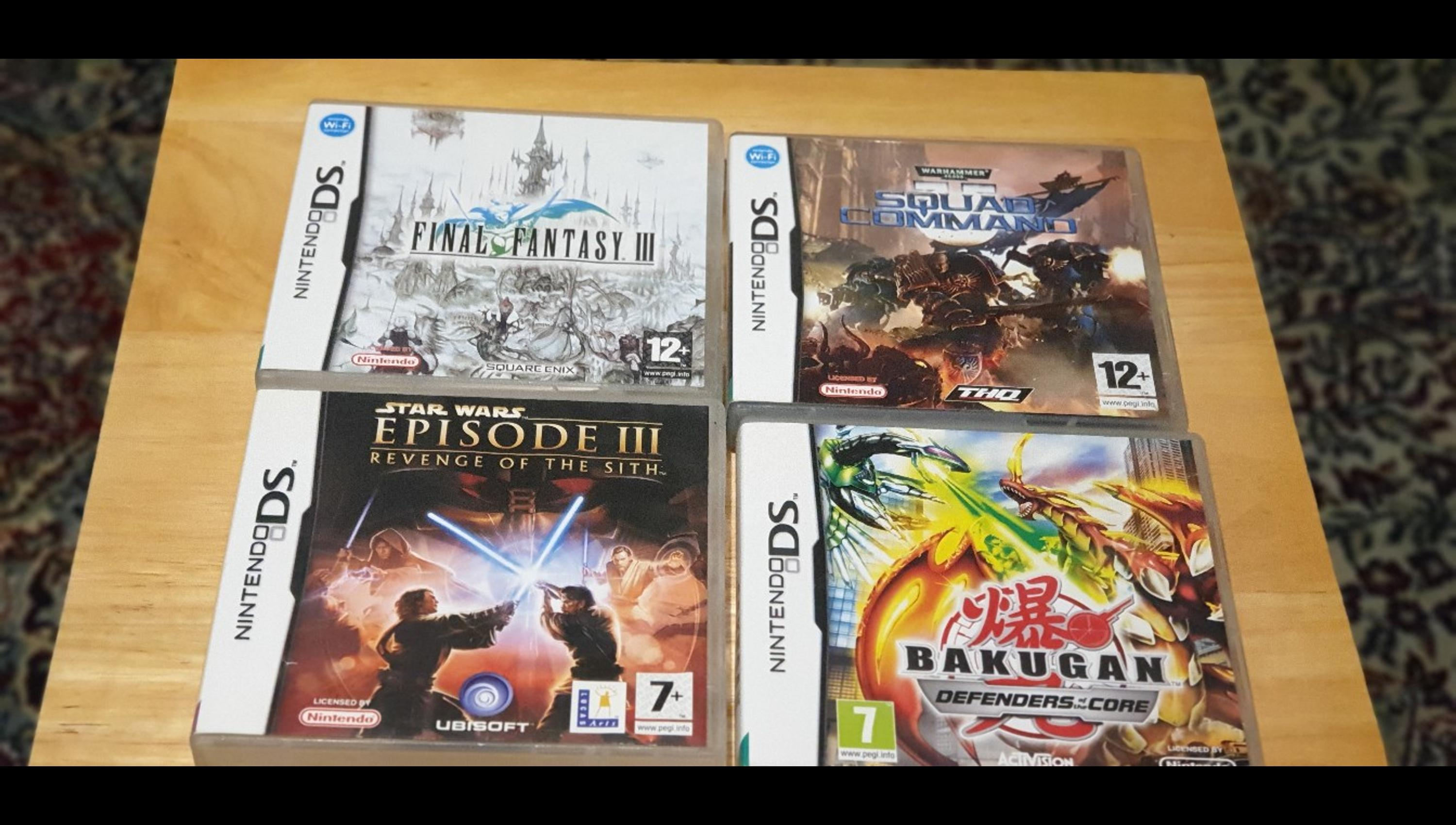 4x Nintendo Ds Game Bundle In Me19 Malling For 25 00 For Sale Shpock