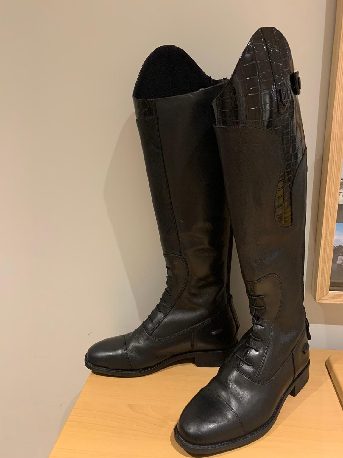 Just Togs Saliano Competition Long Boots