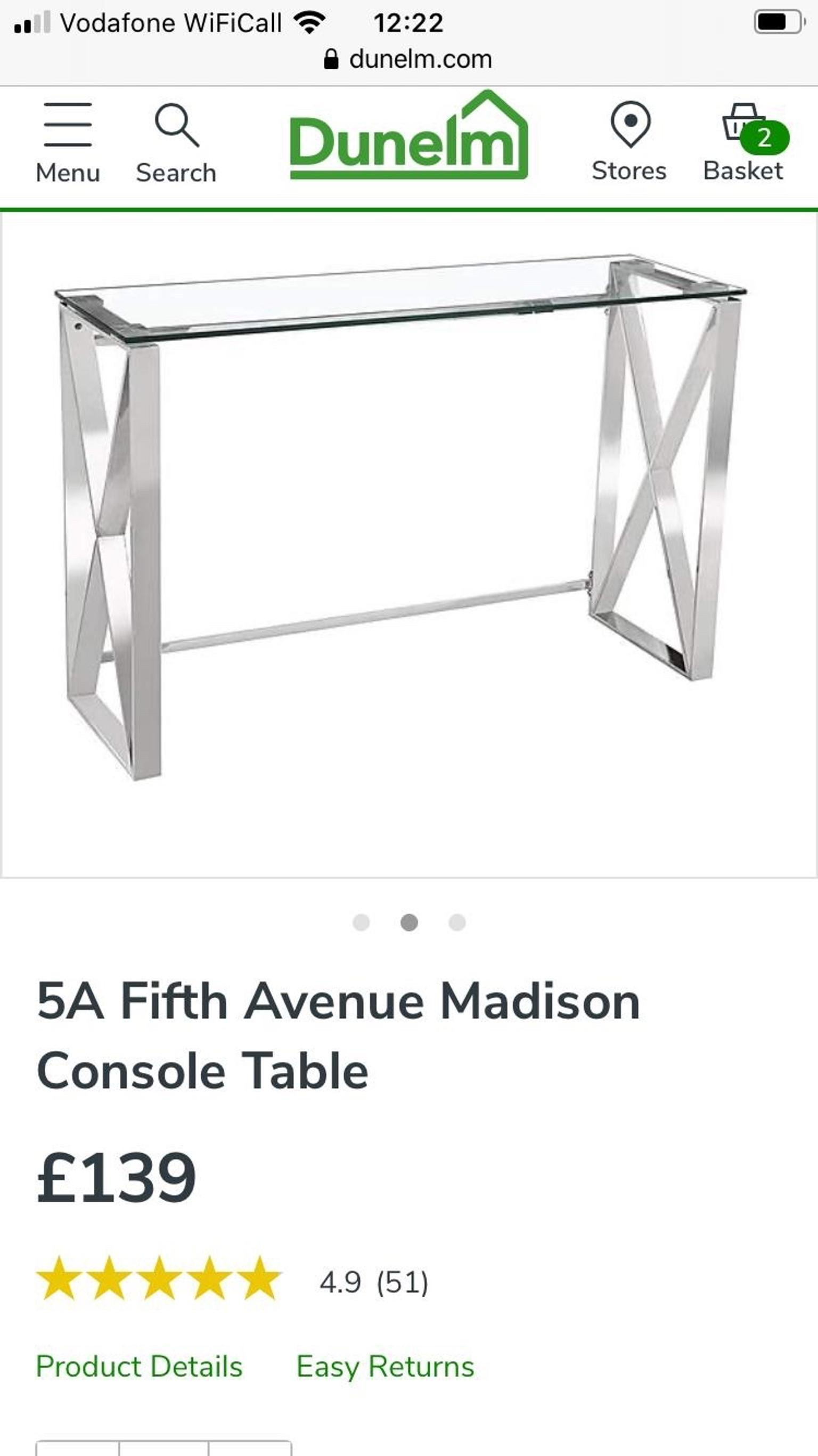 Console Table In Rh10 Crawley For 50 00 For Sale Shpock