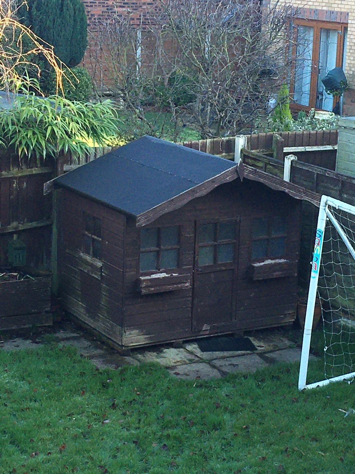 Garden Play Room / Shed 7ft x 5.6ft Free #1 for sale