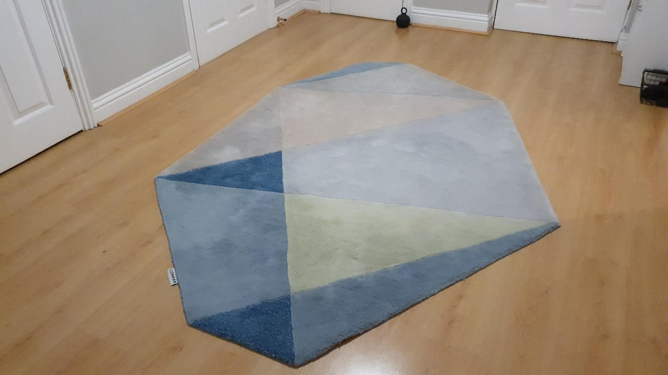 Conran Large Wool Rug In Rh5 Valley For
