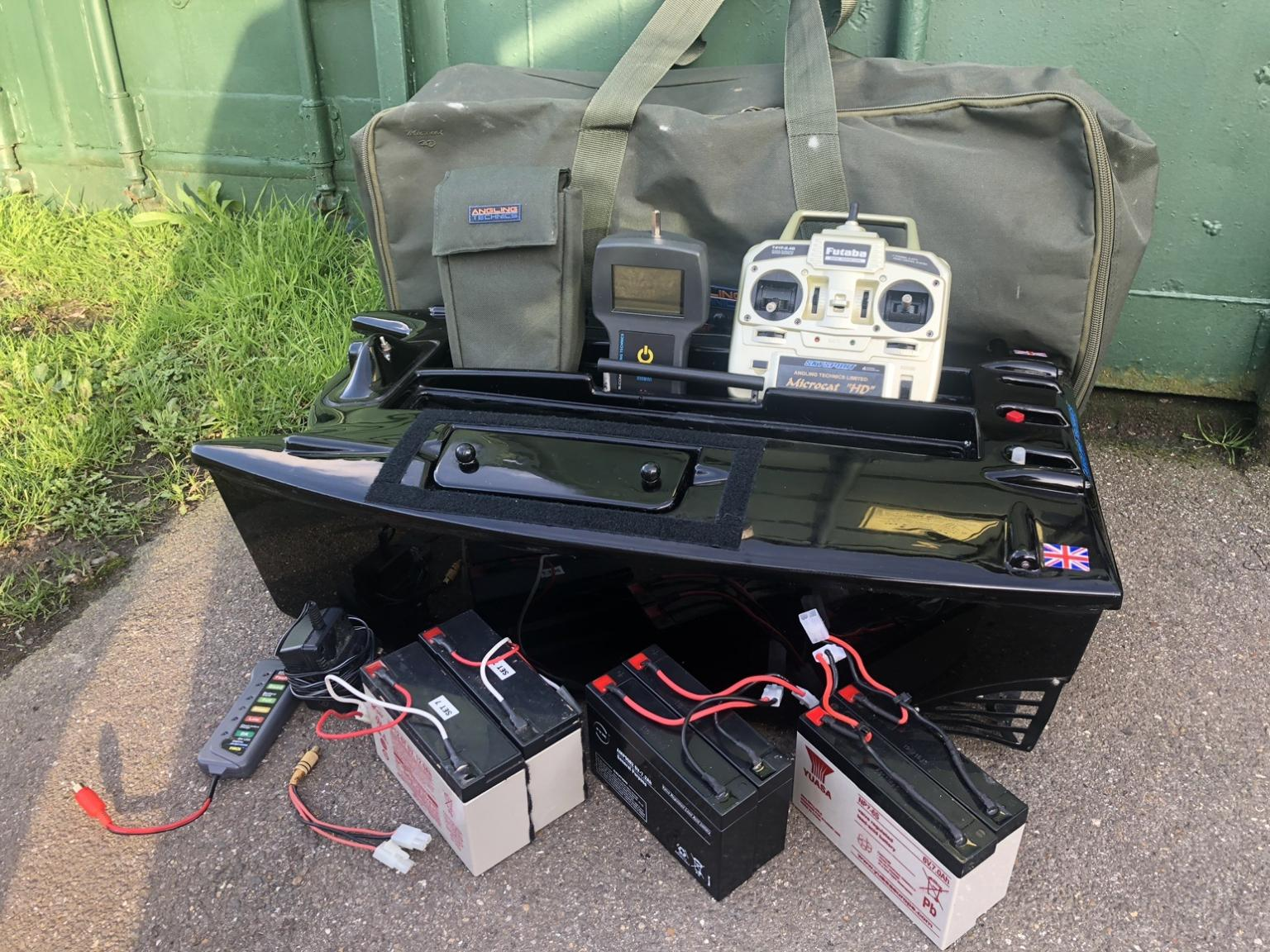 Lead Deluxe Battery Charger for Microcat /& Technicat Bait Boat Batteries