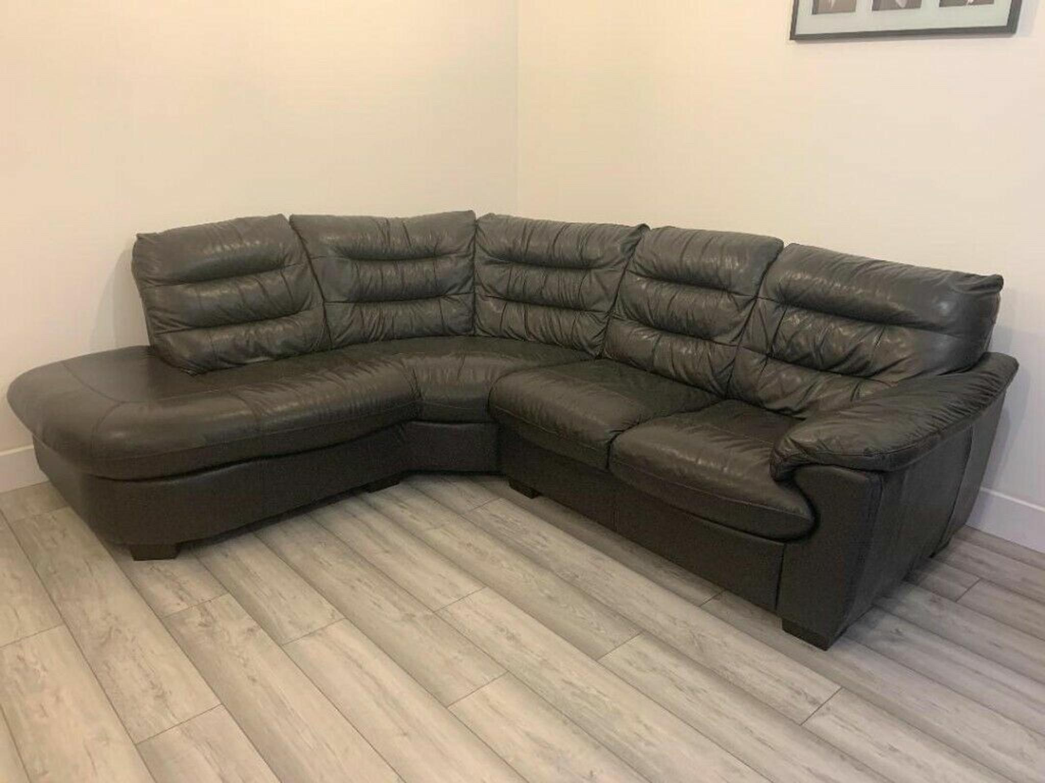 Dfs Leather Corner Sofa In Sl7 Wycombe For 550 00 For Sale Shpock