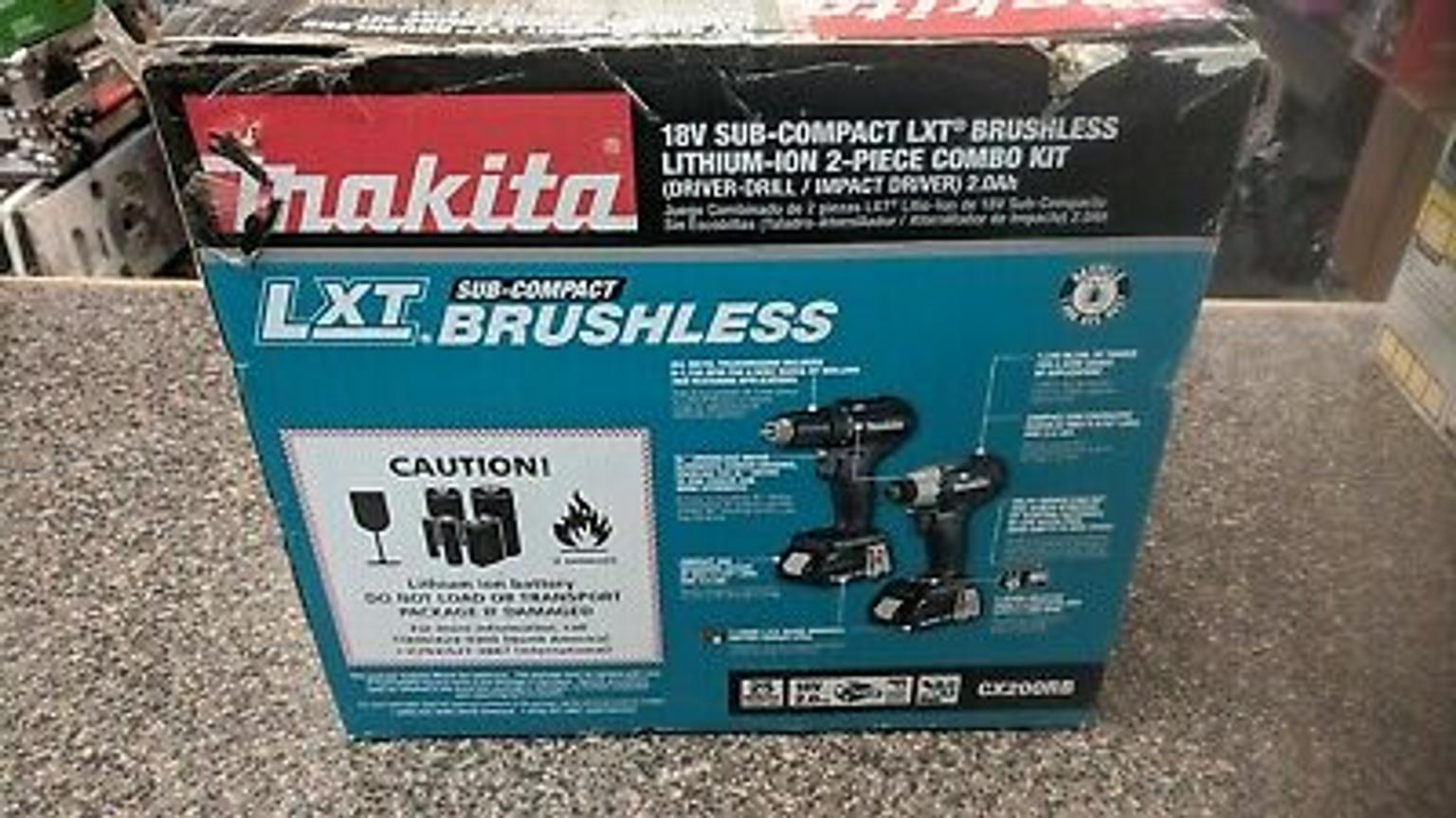 Makita CX200RB Combo brushless kit