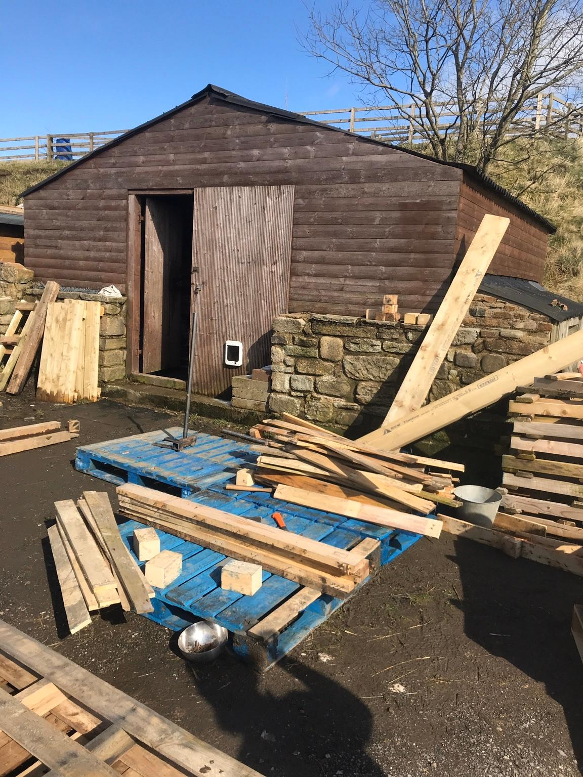 reclaimed pallet wood timber x100 in Rossendale for £70.00 ...
